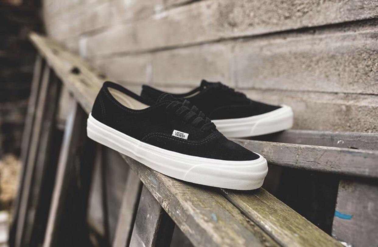 402ced082b1 Vans Vans Vault OG Authentic LX Black Suede Size 12 - Low-Top Sneakers for  Sale - Grailed