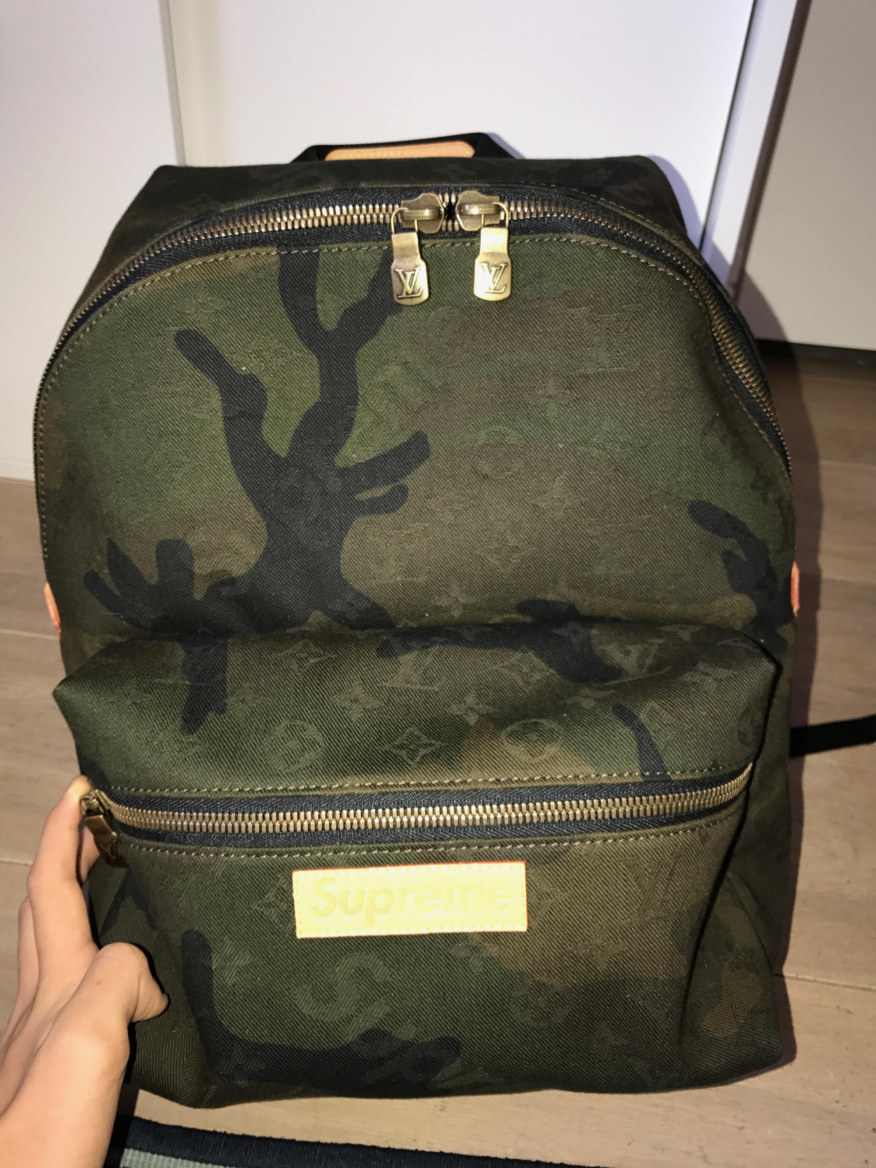 43921109f9c6 Supreme APOLLO BACKPACK CAMO SUPREME LV LOUIS VUITTON Size one size - Bags    Luggage for Sale - Grailed