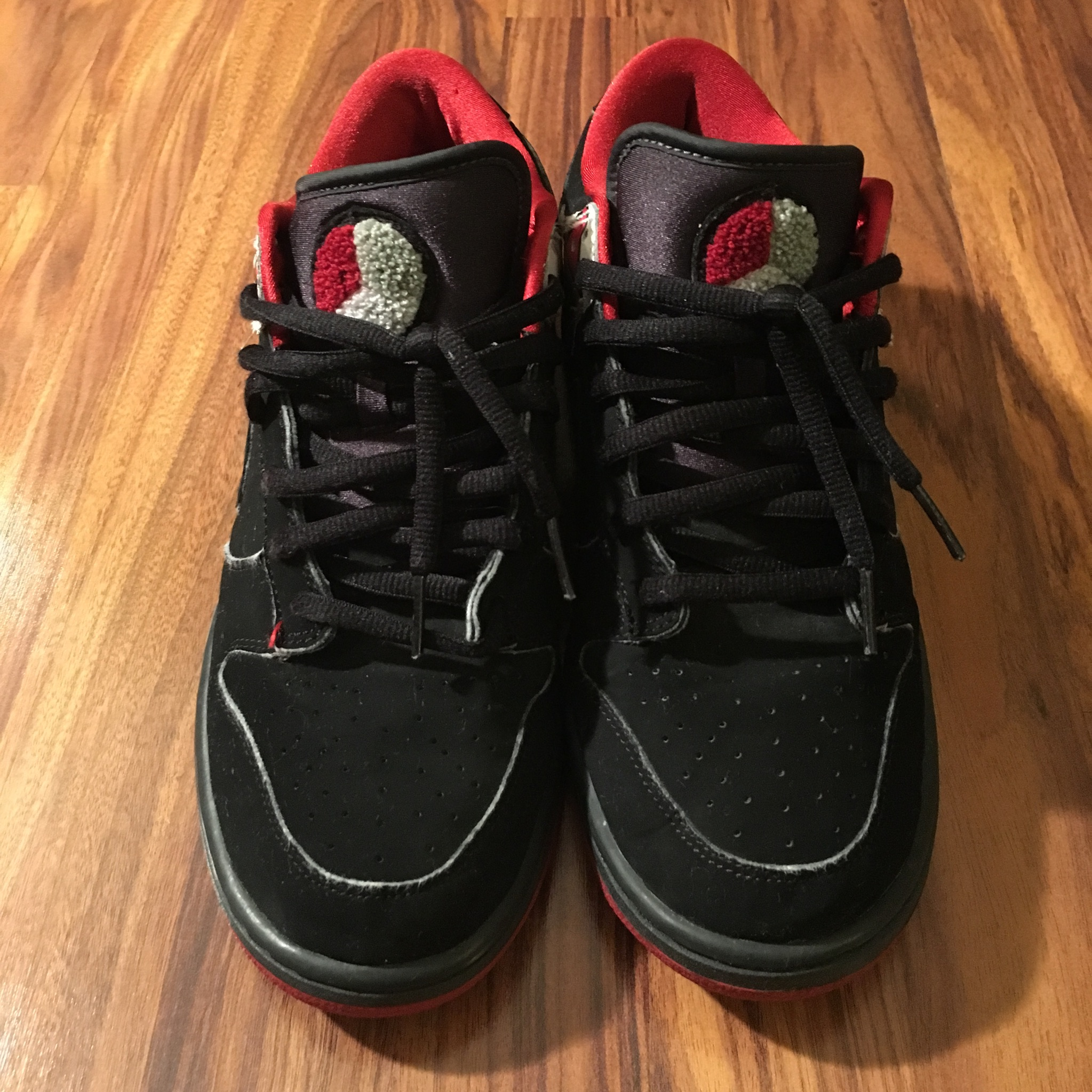 the latest 0a2f6 97a4c Nike × Vintage ×. Nike Dunk Low Premium Jordan 8 VIII Black Anthracite Mens  ...