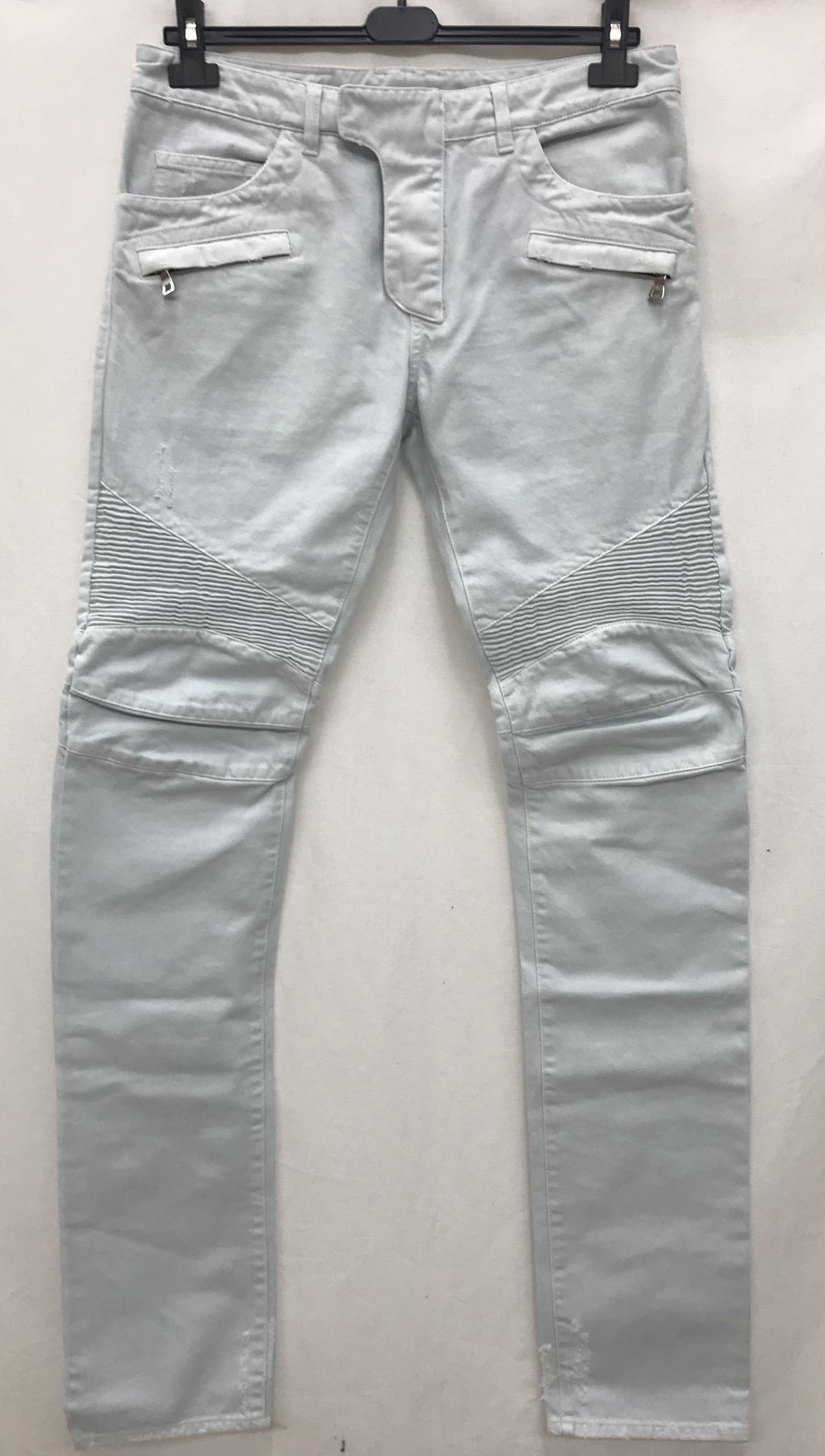 b257995c Balmain Balmain Jeans Biker Size 32 Mod. S4ht500b406 | Grailed