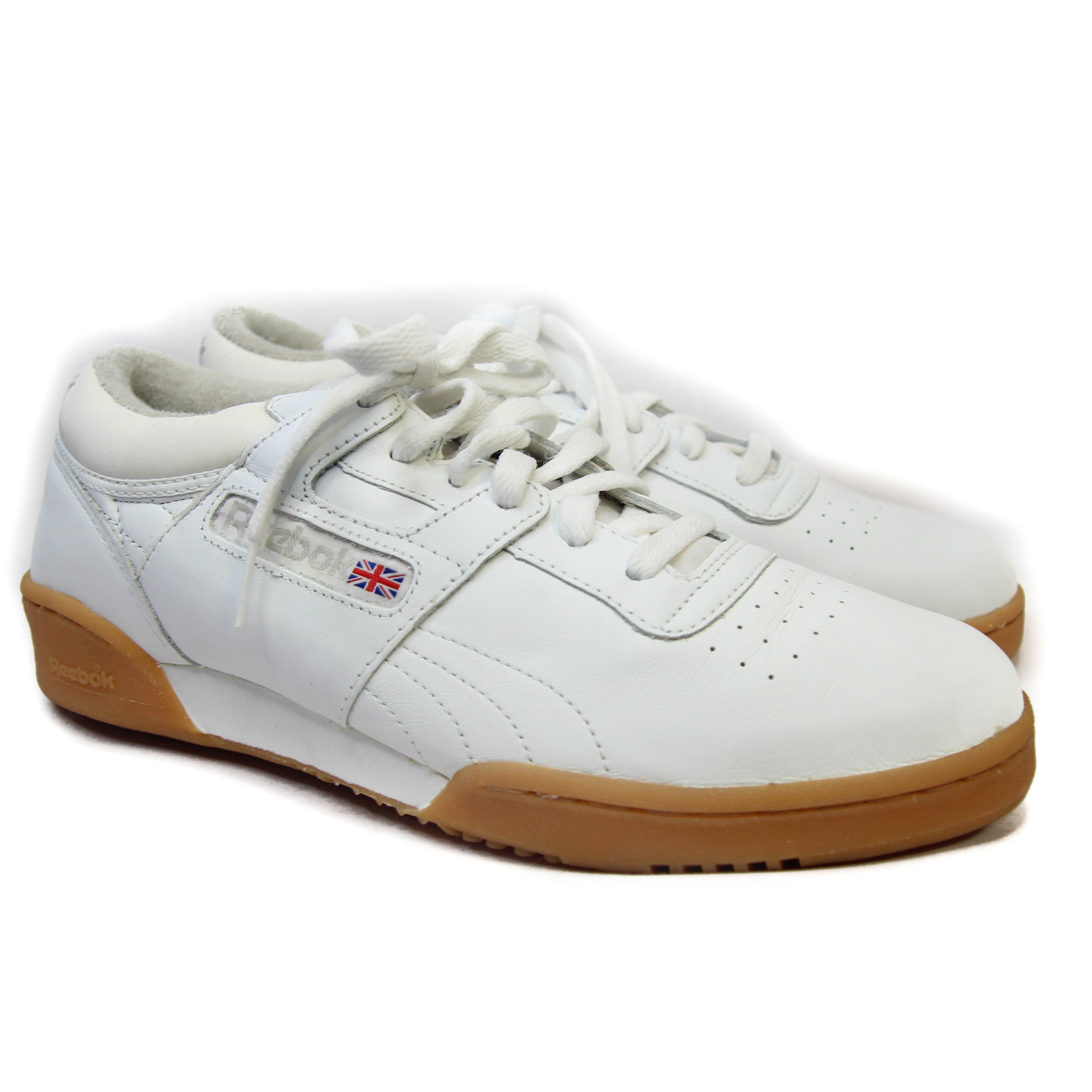 Reebok Classic Leather Athletic Shoe Gum Sole