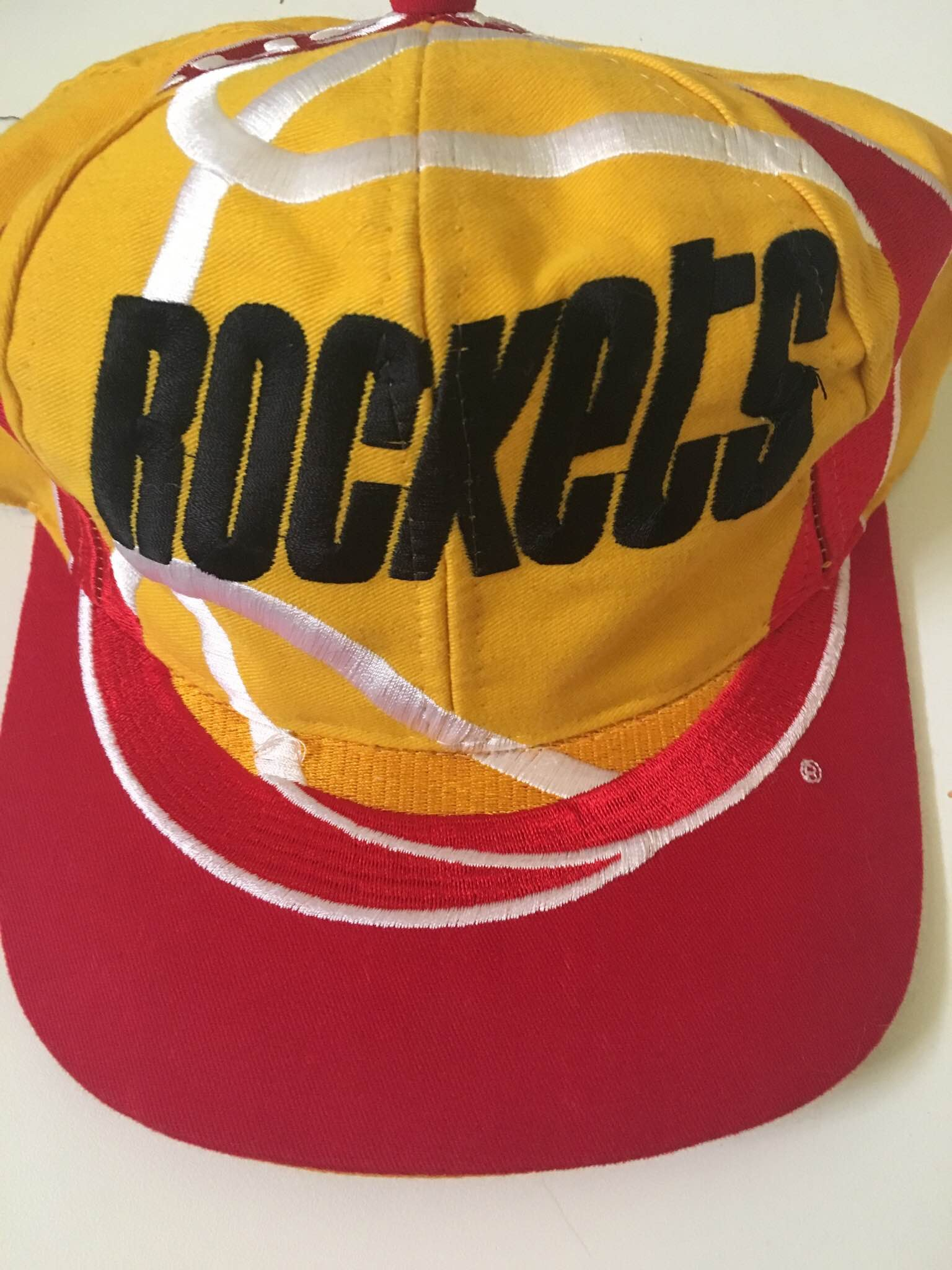 3328f1f247d94 Nba Rare Houston Rockets Vintage Snapback
