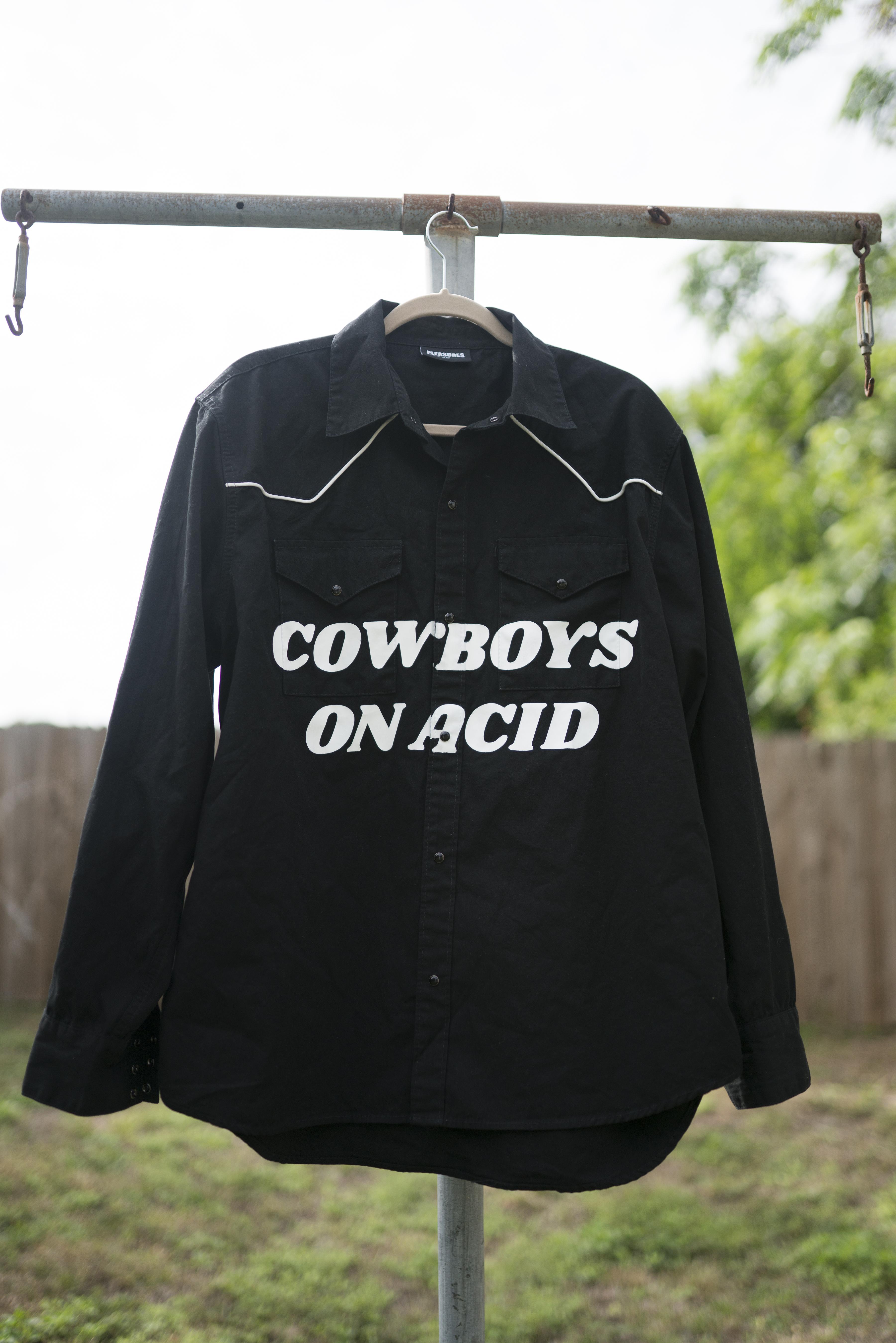 28673d70 Pleasures Cowboys On Acid Button Up | Grailed