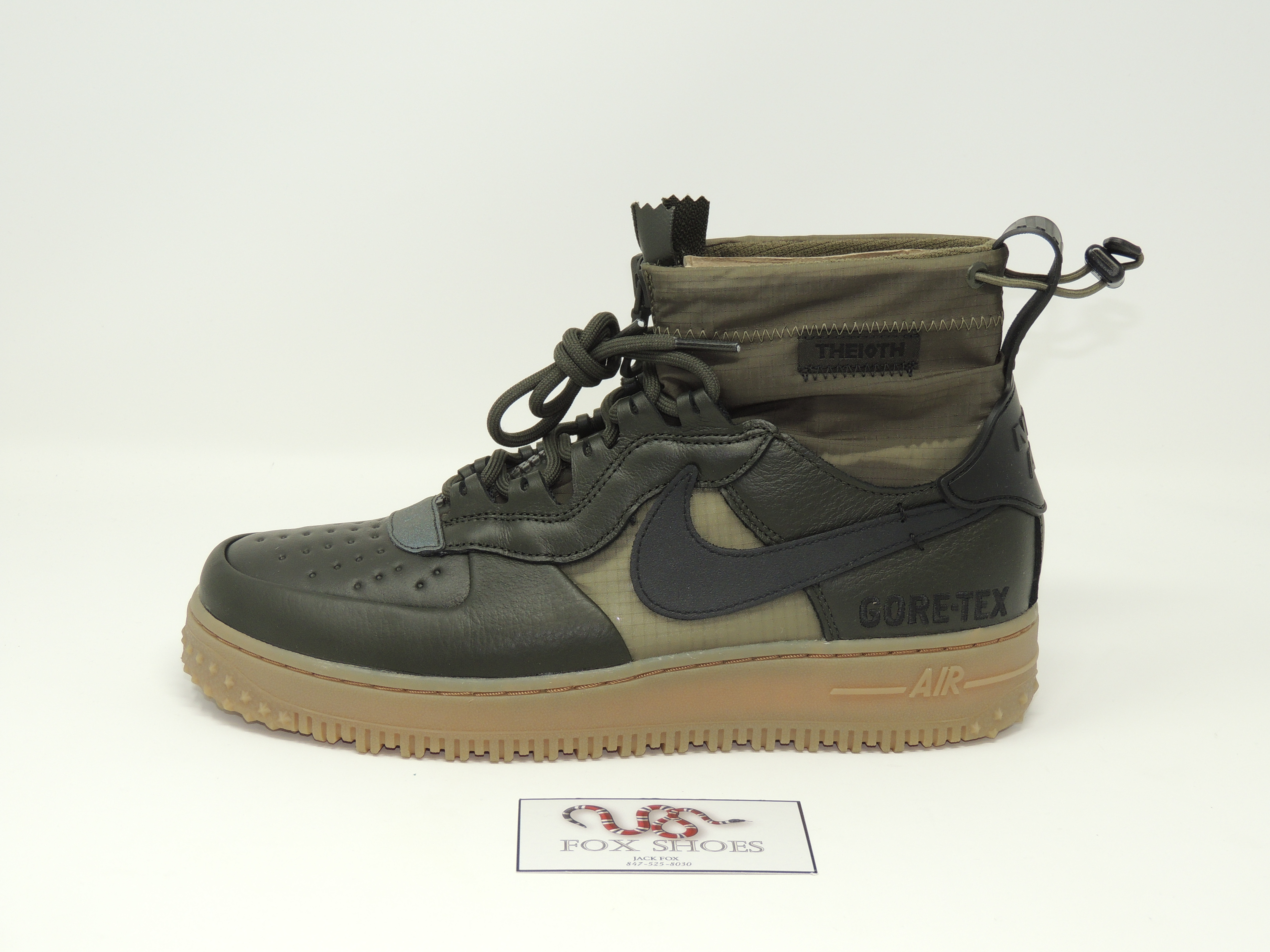 Nike Air Force 1 Winter Gore tex Sequoia Size 9.5 NEW