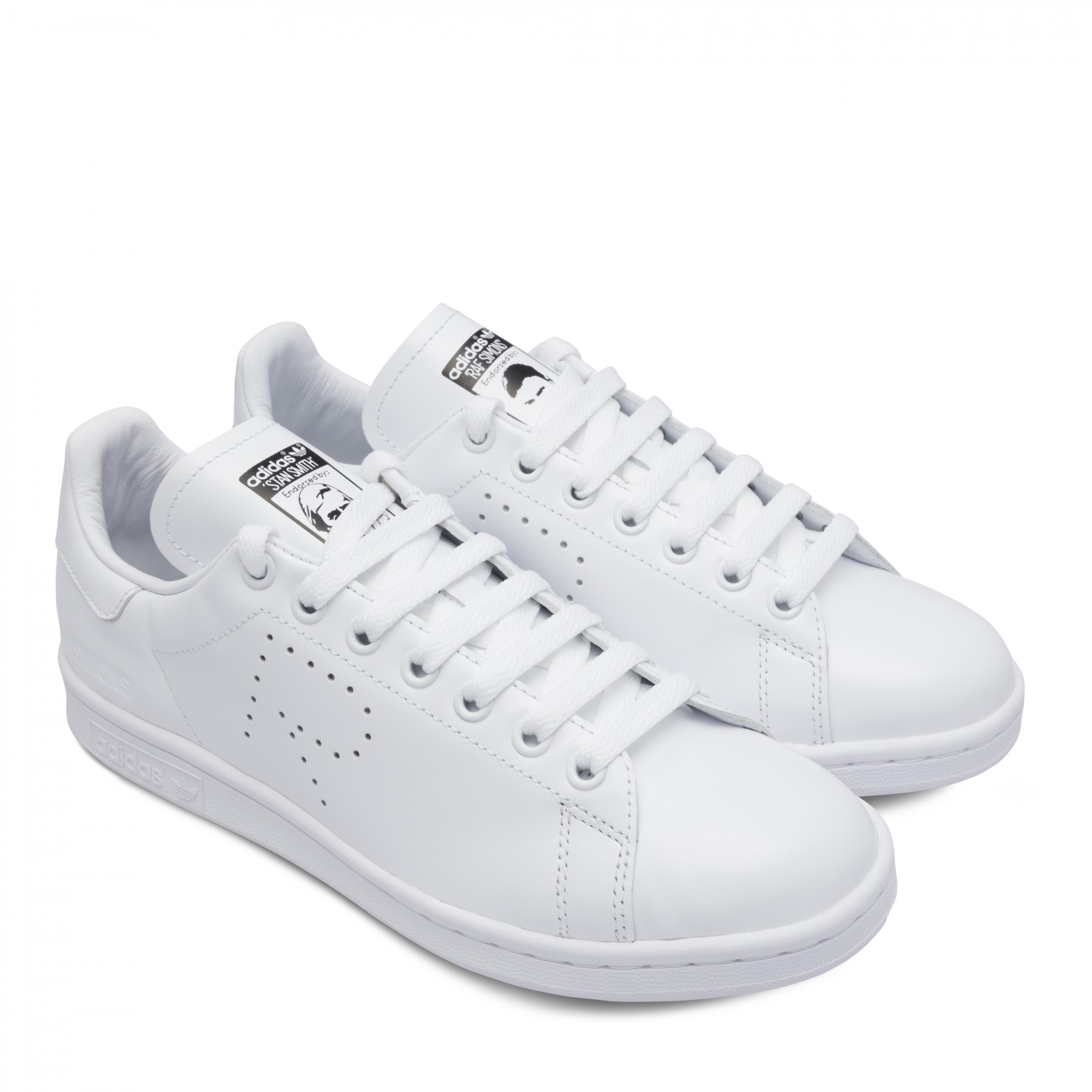 QUICK SALE ADIDAS X RAF SIMONS STAN SMITH WHITE 7.5 US 40 2/3 EU 7 UK