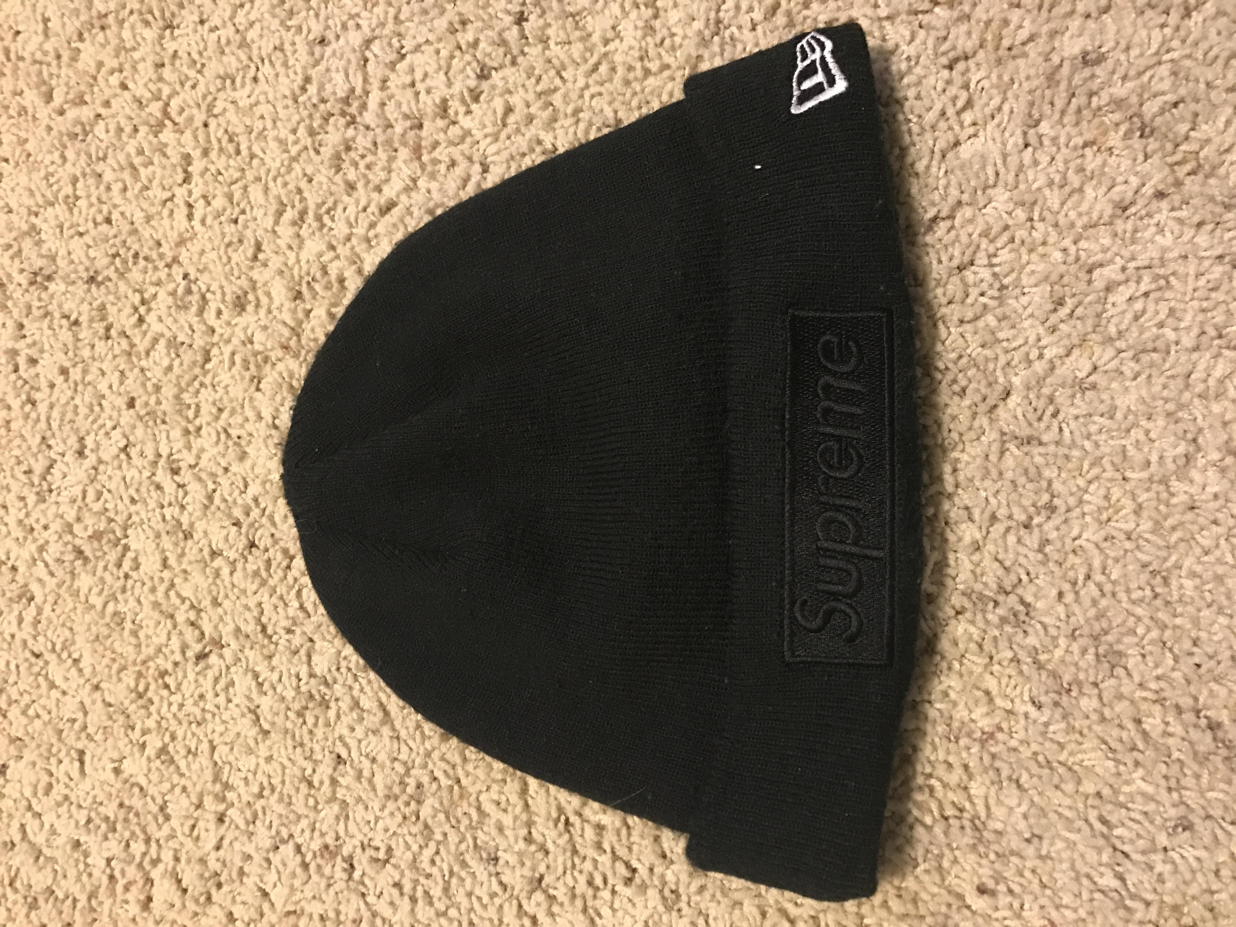 48cf88362c1 Supreme Supreme New Era Tonal Box Logo Beanie - Black Size one size ...