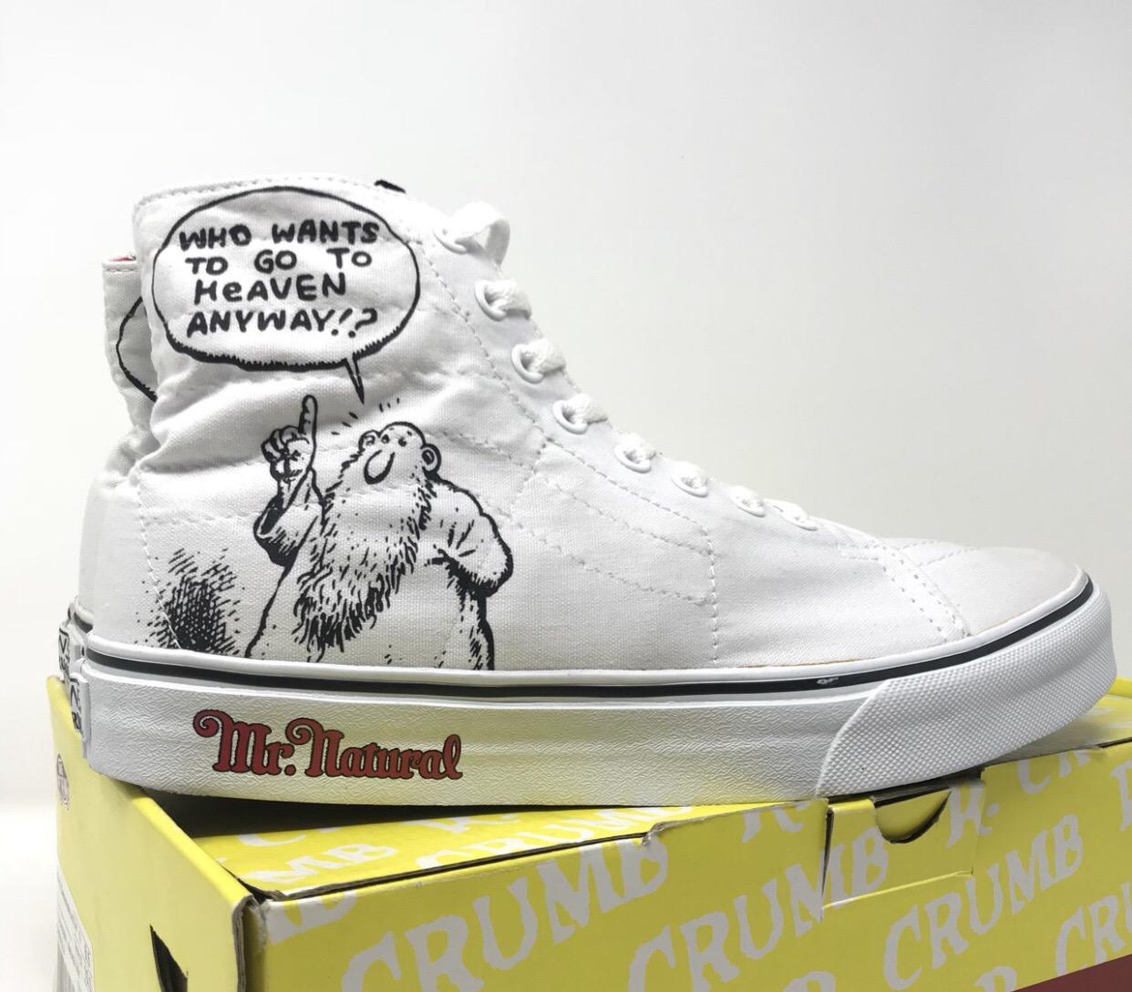 a018ba32355304 Supreme Vans x Mr natural Size 8.5 - Hi-Top Sneakers for Sale - Grailed