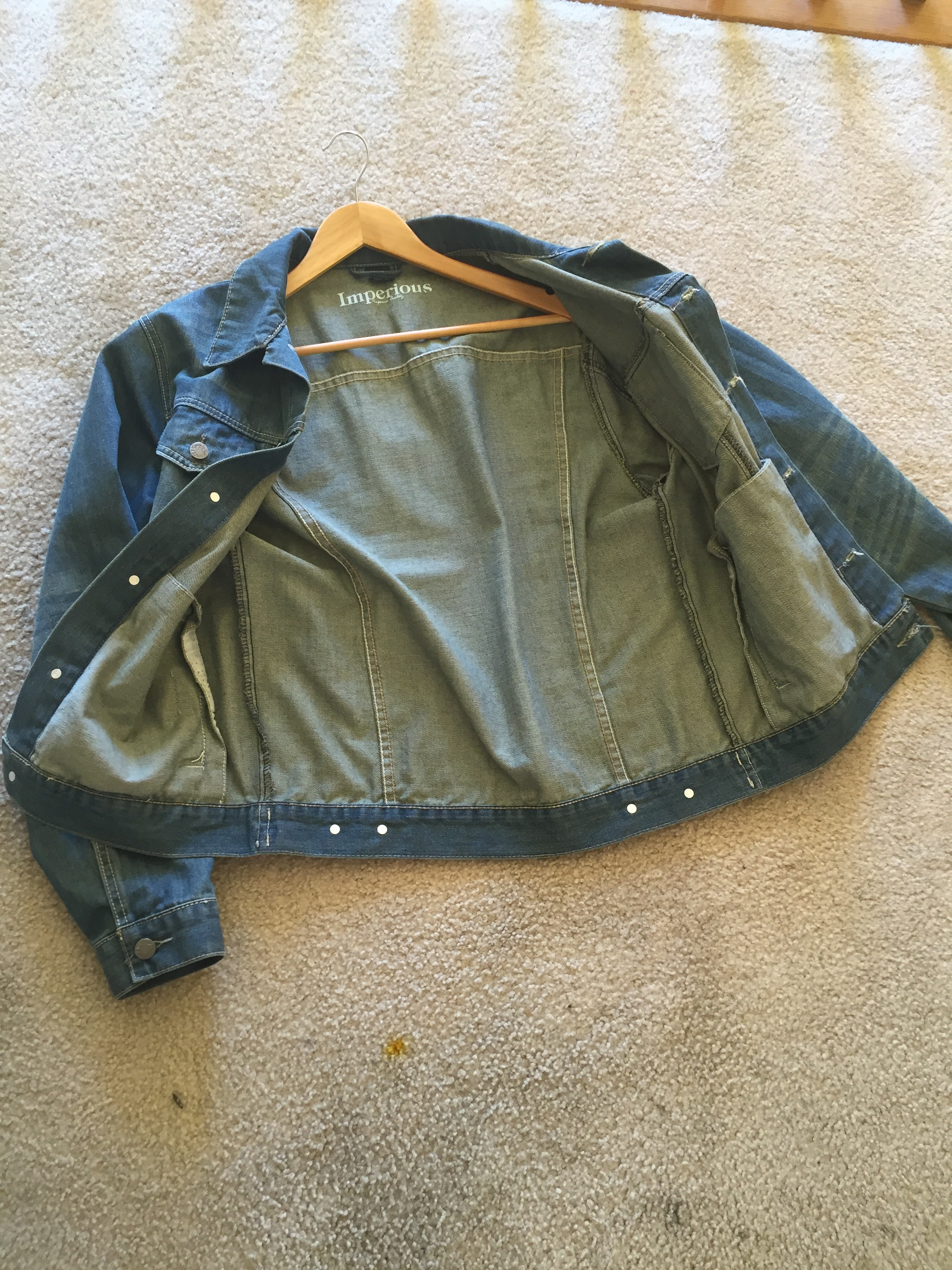 Imperious All Denim Jacket Grailed
