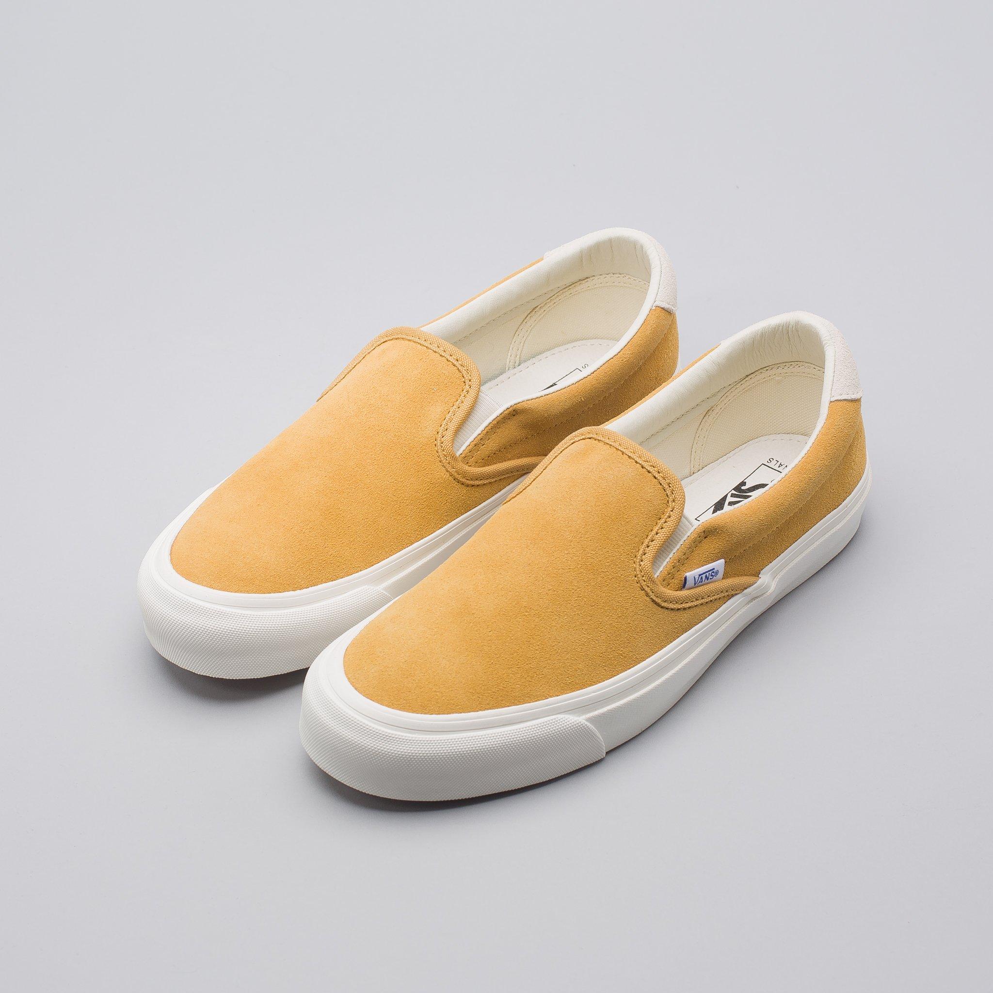 8bf763e37f91e8 Vans OG Slip On 59 LX in Honey Mustard Size 11 - Slip Ons for Sale ...