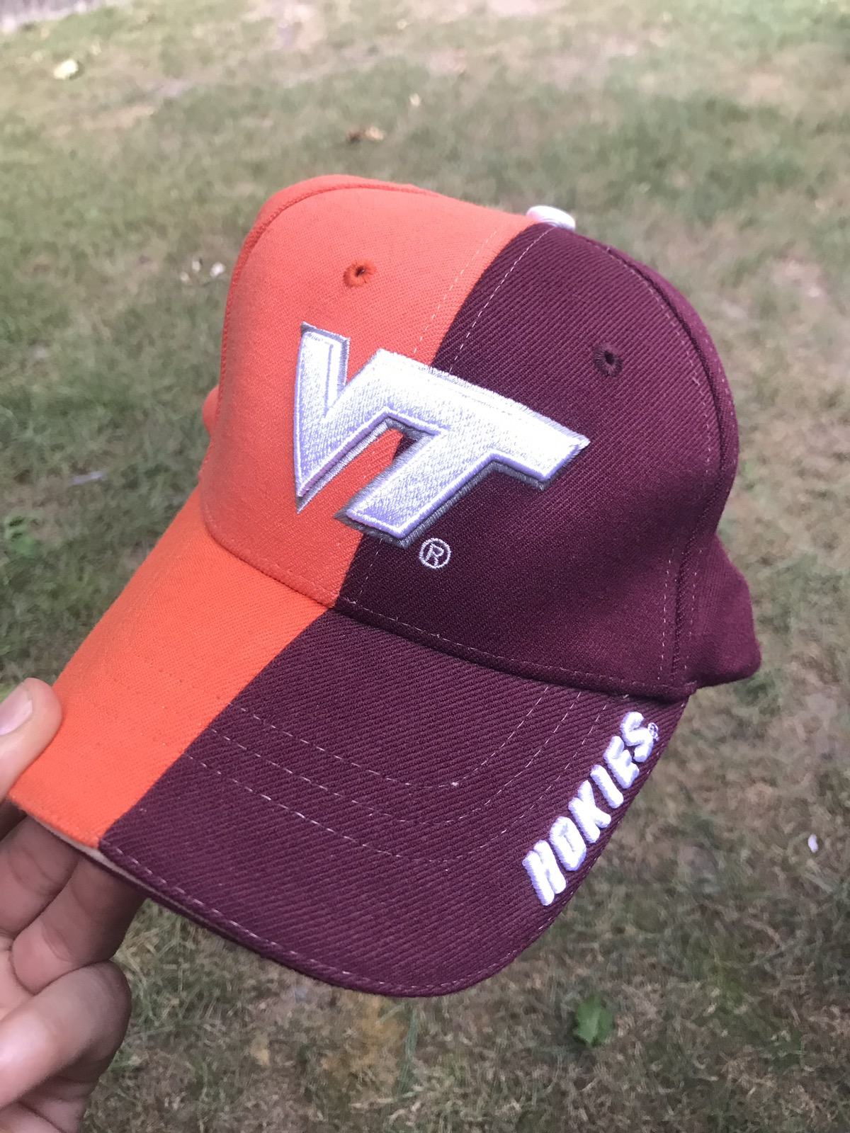 NCAA Slouch Flex Hat One Size Virginia Tech Hokies