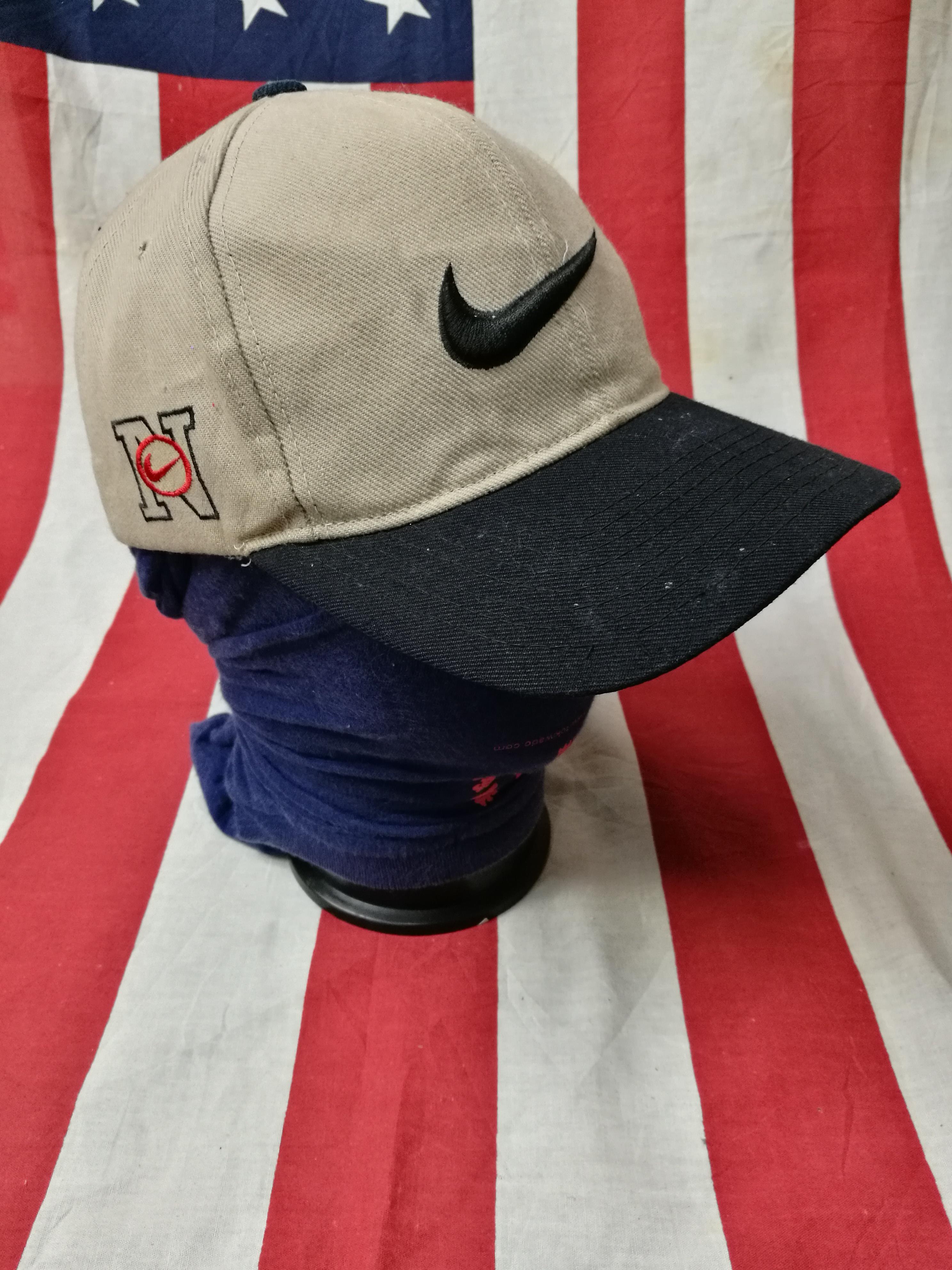 Nike × Vintage. rare vintage nike swoosh big logo baseball tennis cap hat  dad hat. Size  ONE SIZE c2fe264b9153