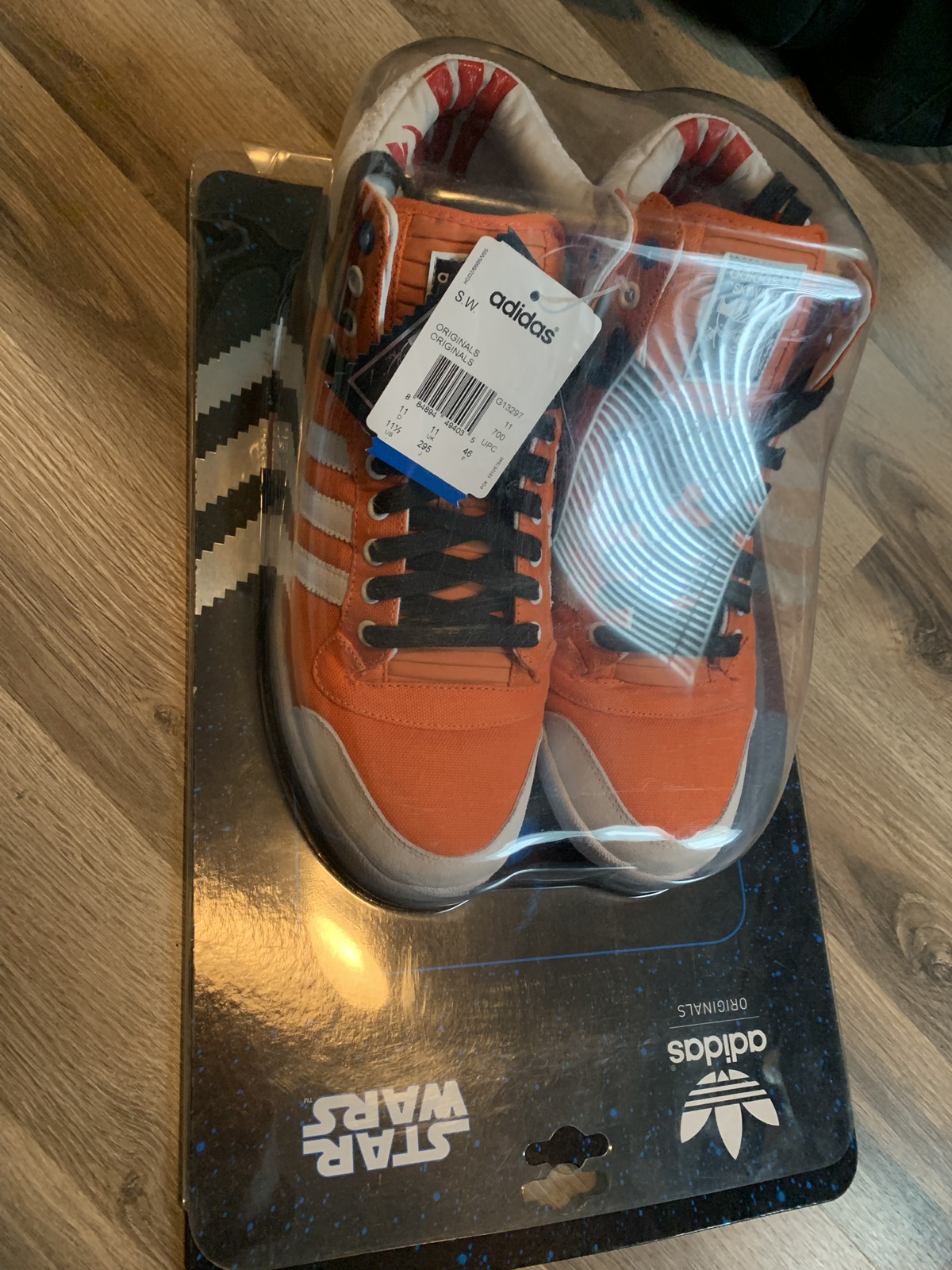 Culo Repegar embargo  Adidas Adidas Star Wars Skywalker Rebel Pilot Hi Tops Size 11.5 ...