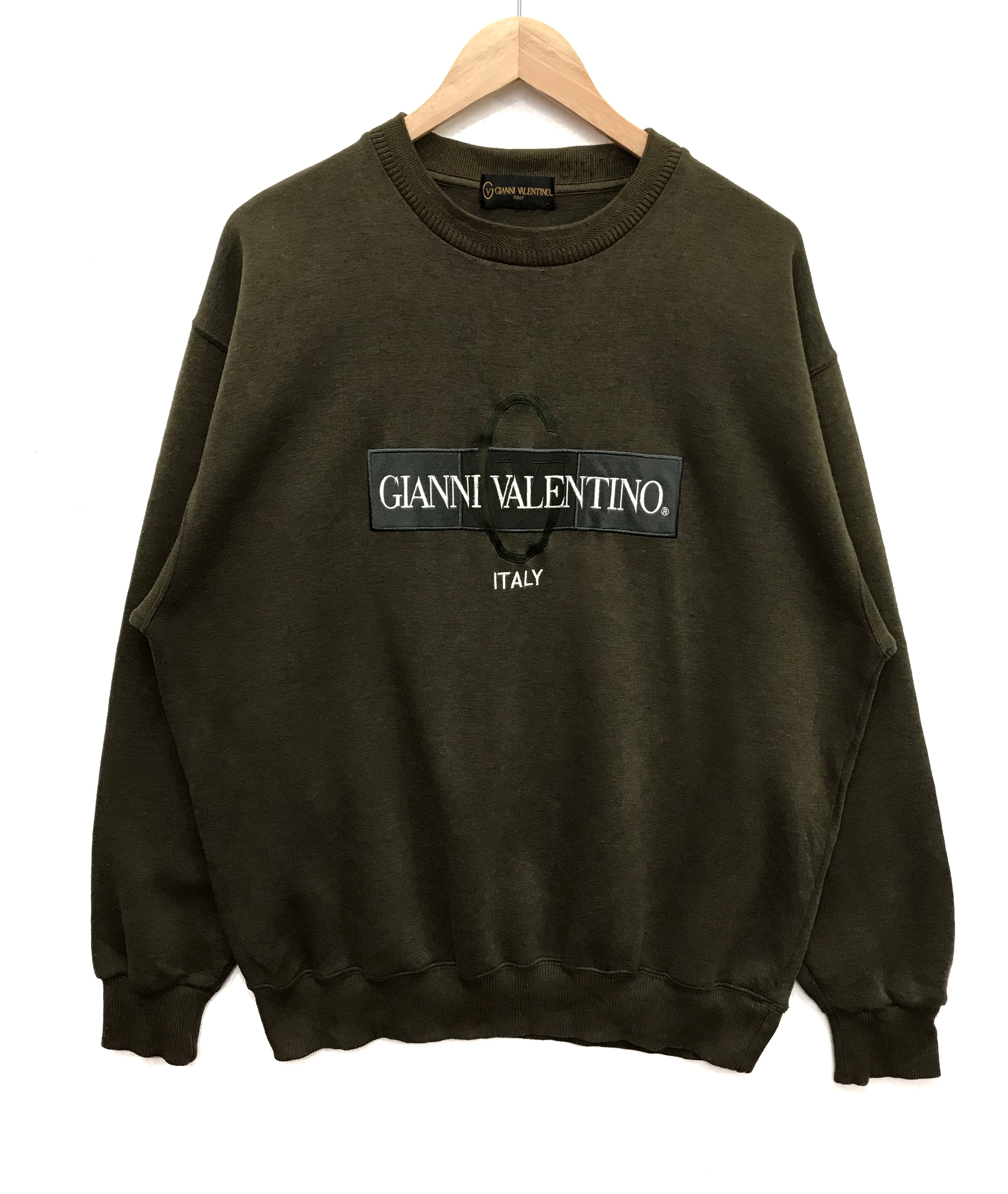 Vintage Gianni Valentino Embroidery Jumper