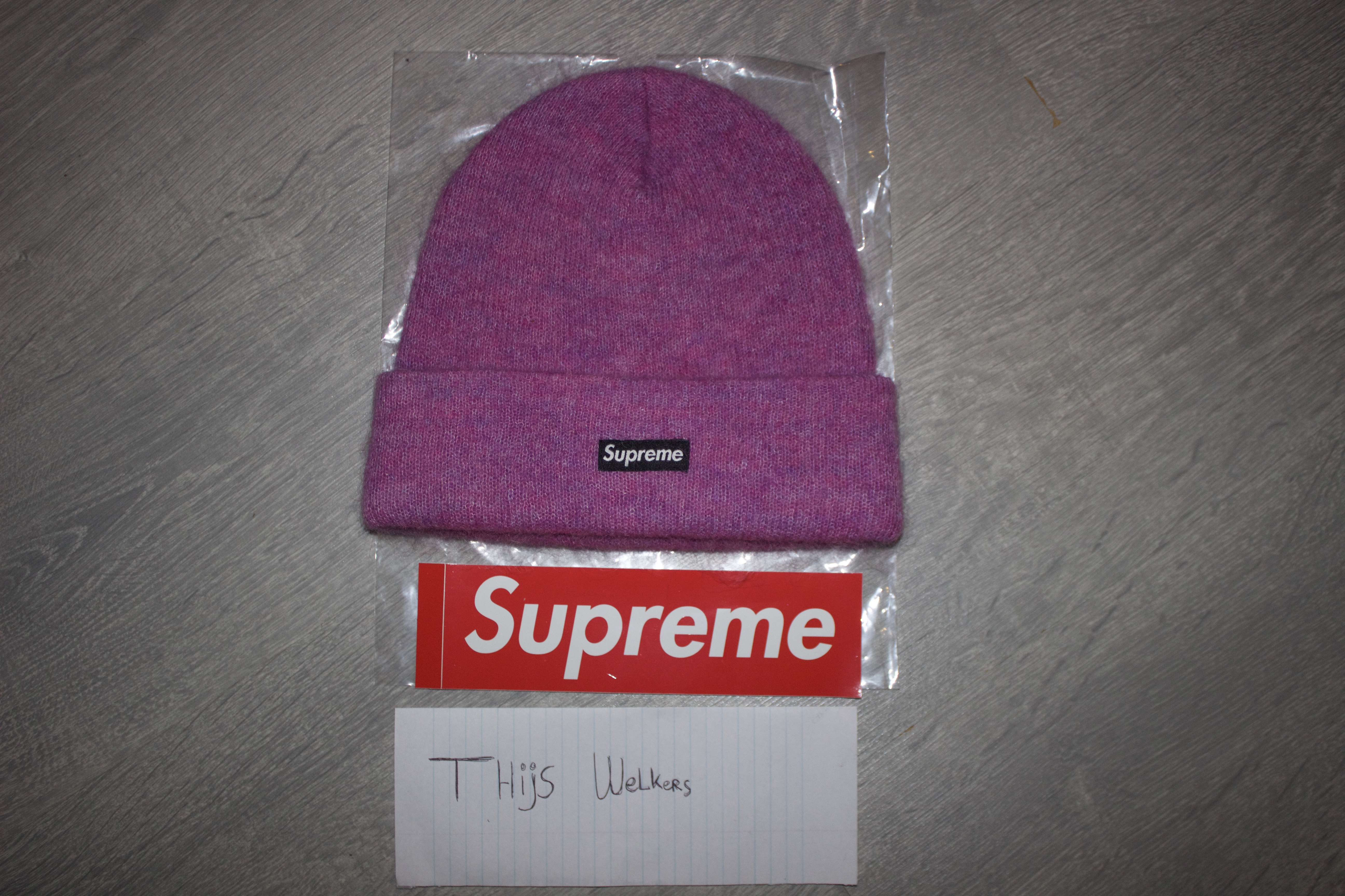 8c21e0f34d57f Supreme Supreme Mohair Beanie Pink Size one size - Hats for Sale - Grailed