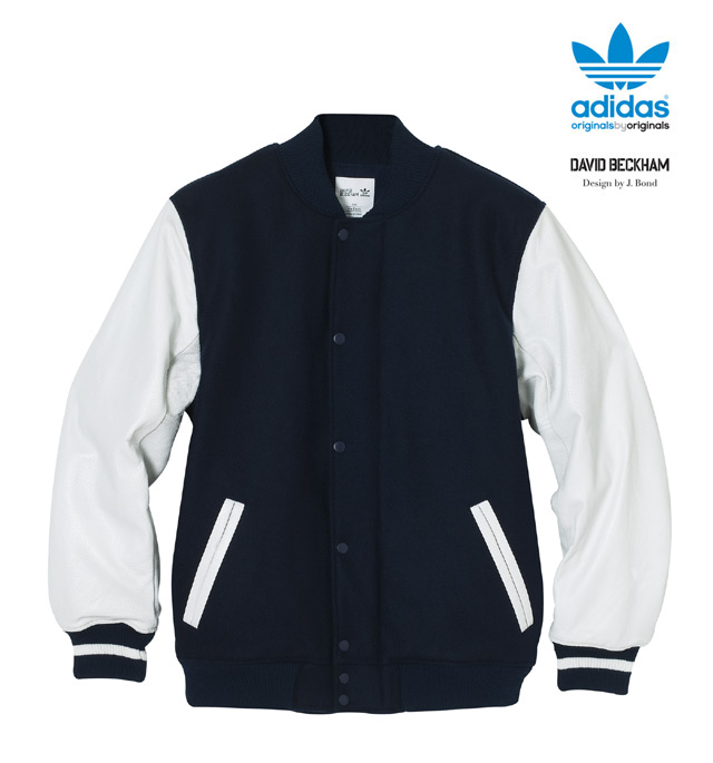 purchase cheap 10658 8a161 Adidas NEW ADIDAS ObyO - JAMES BOND for DAVID BECKHAM - DB VARSITY JACKET  Size xl - Bombers for Sale - Grailed