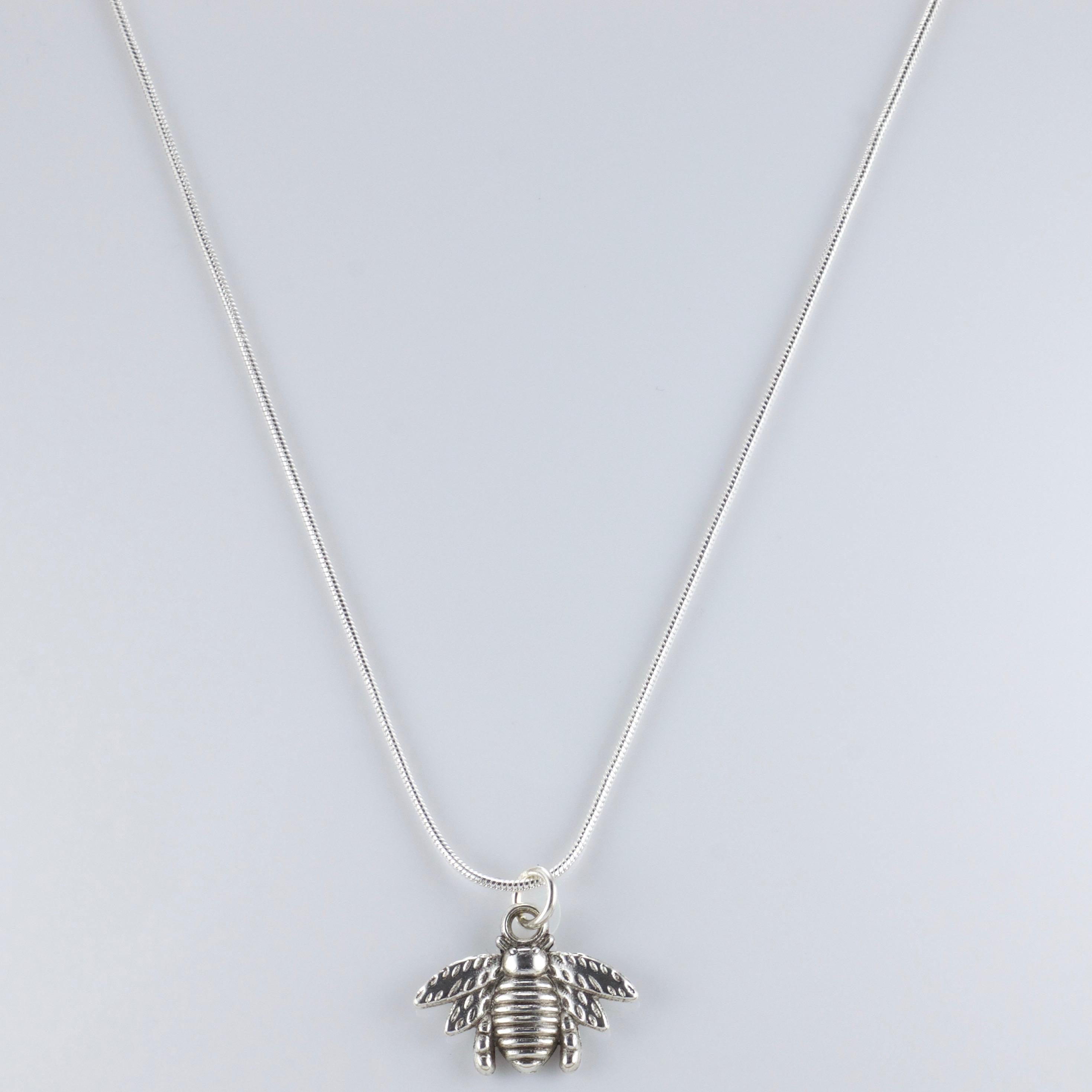 *LAST DROP* Tyler The Creator Flower Boy Bee Silver Necklace 20