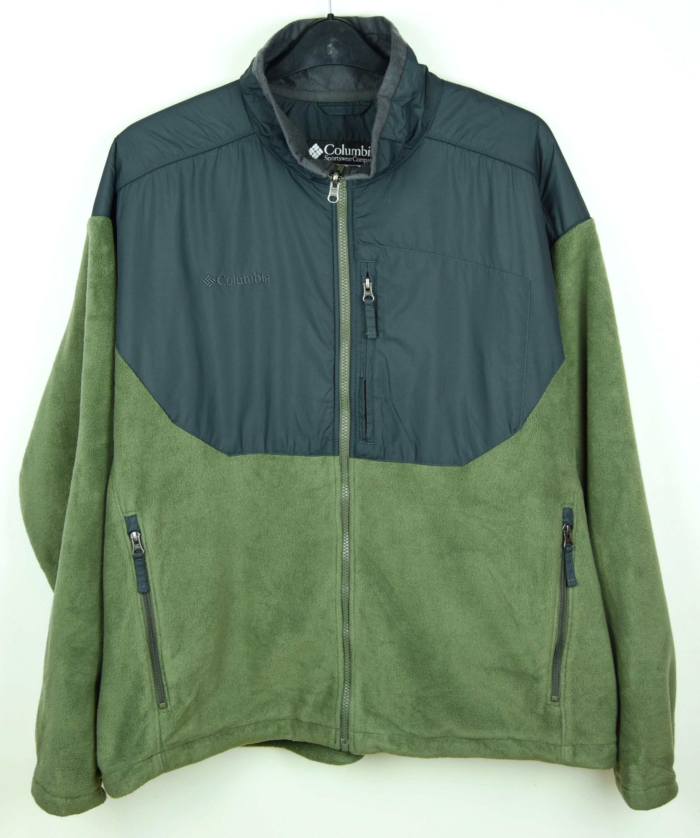 Columbia Core 2XL Fleece mountable to Jacket Jumper Sweater