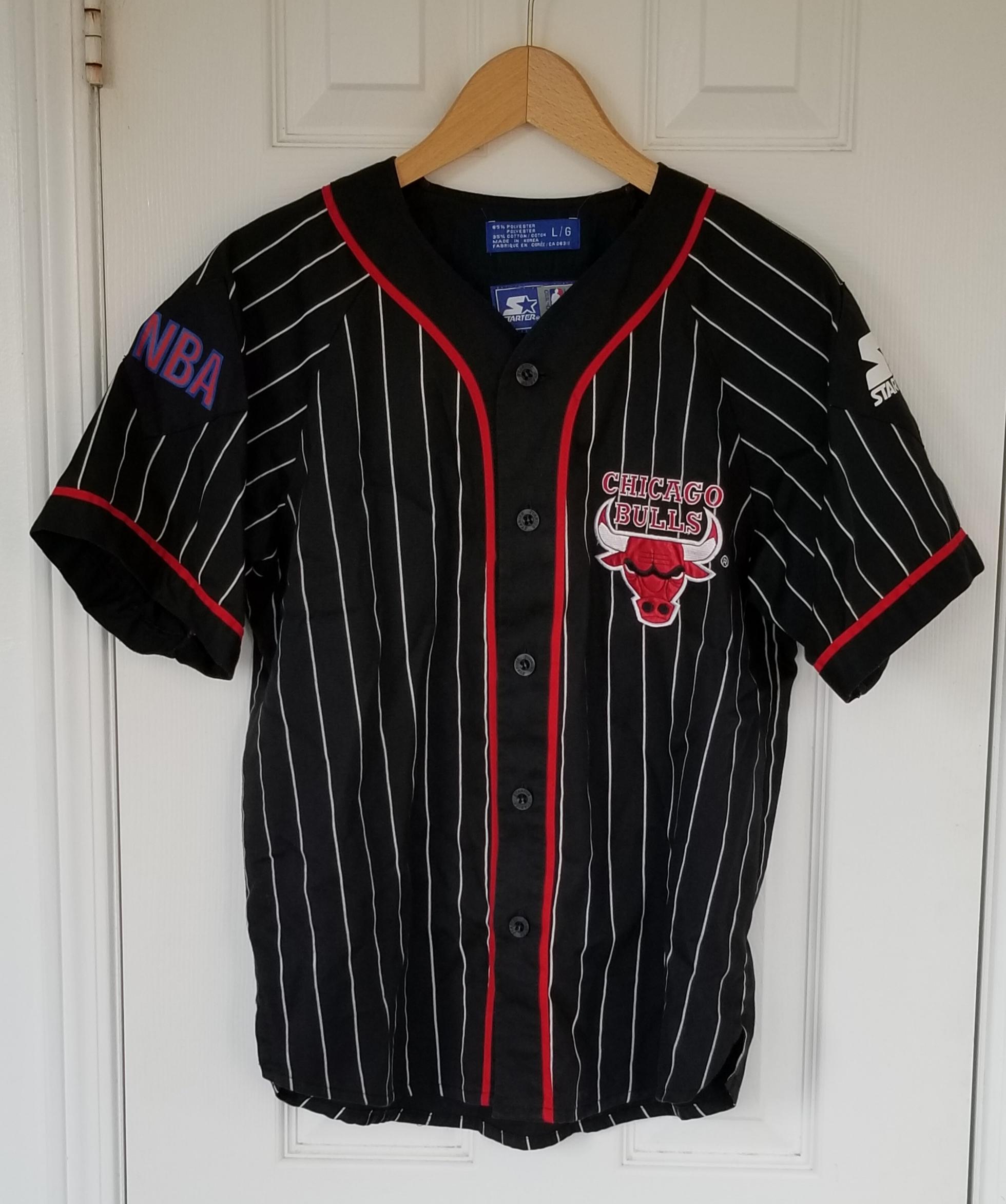 bulls baseball jersey