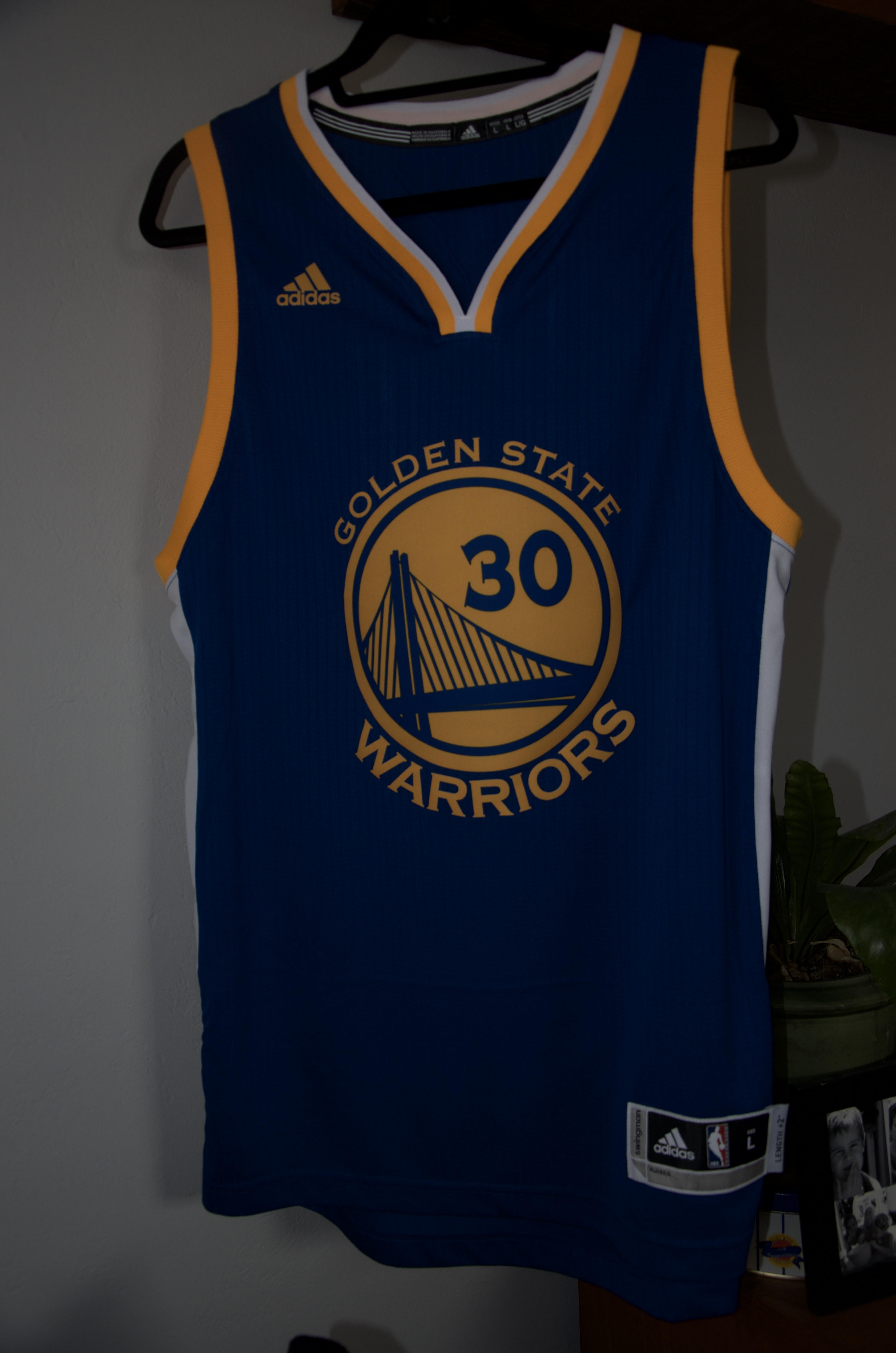 Adidas Stephen Curry Adidas Jersey with Tags