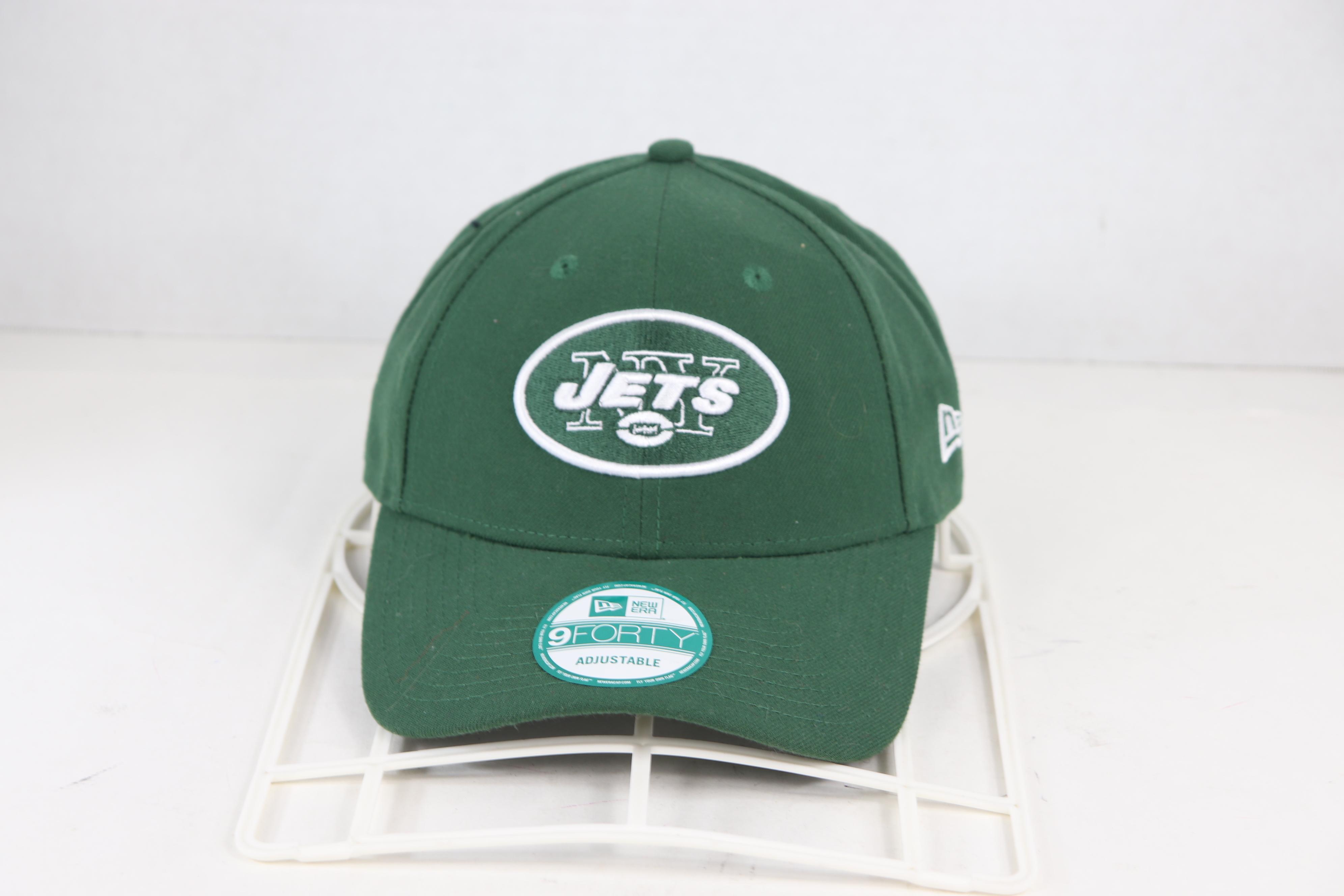 77ca95077 New Era ×. New Era 9 Forty New Era New York Jets Classic Logo NFL Strapback  Hat Green