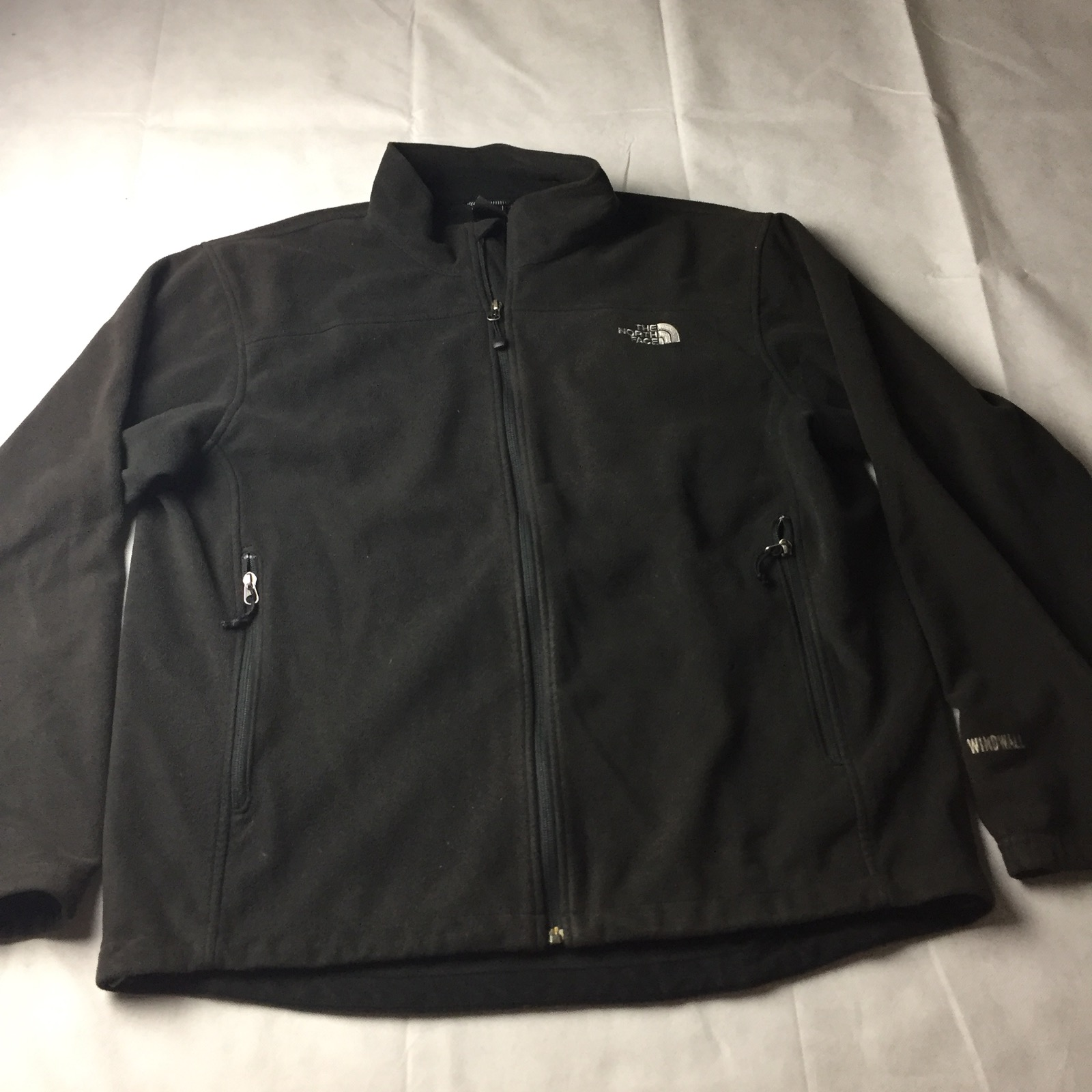 7ebb126af THE NORTH FACE Windwall Fleece Full Zip Jacket Men's Size XL