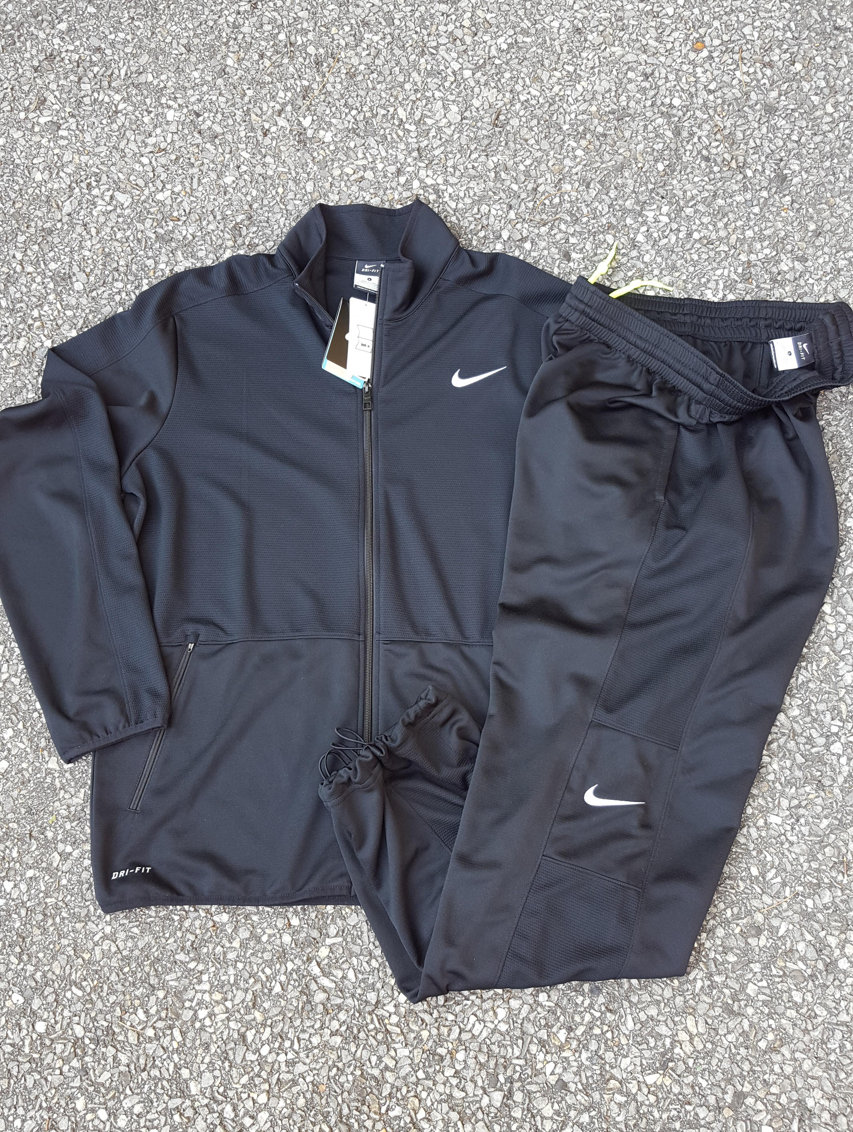 c219621e8b3f Nike Nike DRI-FIT Basketball Warm Up Suit Jacket   Pants w Bungee ...