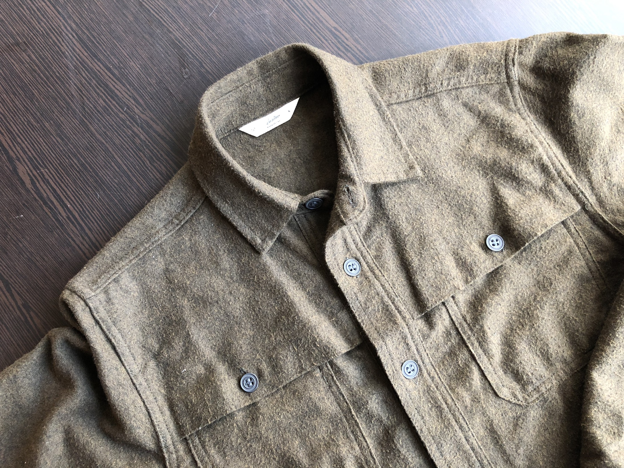 f4aa60a2117 3sixteen Japanese Flannel Hunting Shirt Size s - Shirts (Button Ups) for  Sale - Grailed