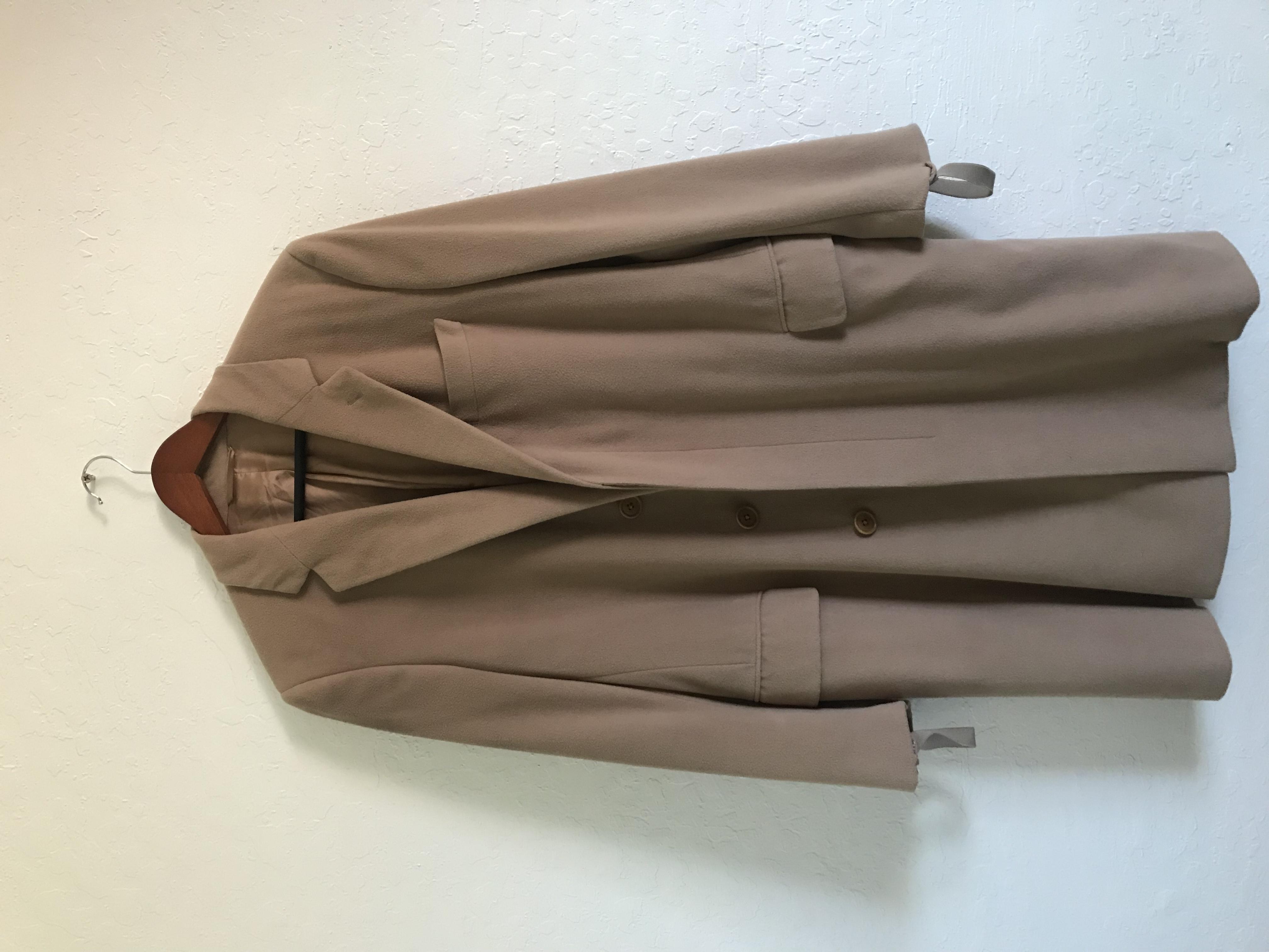d0c4bd376456c Helmut Lang  grail  Helmut Lang Bondage Camel Coat