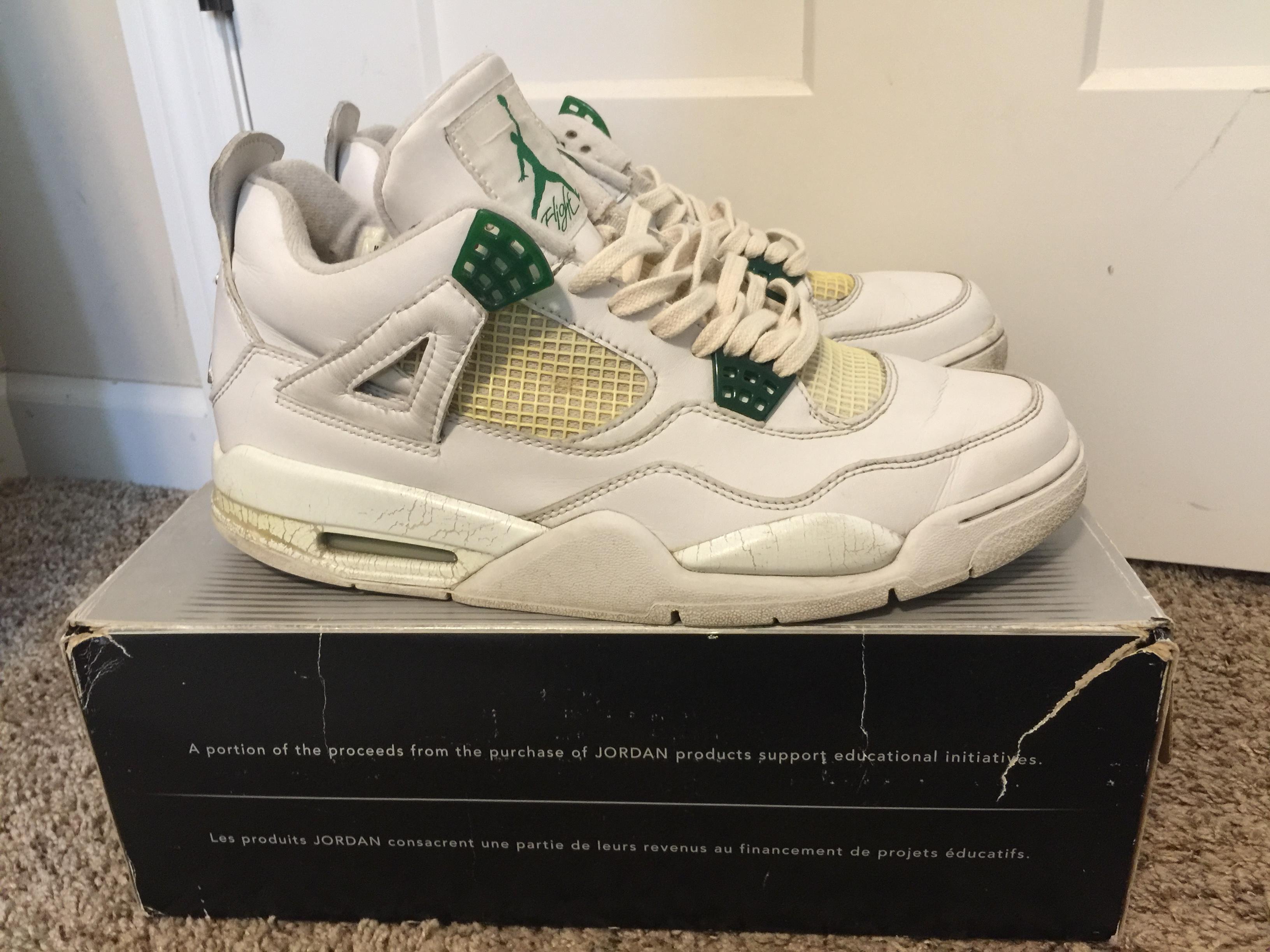 d4566bb99ffc3e Jordan Brand ×. (STEAL!) Air Jordan 4s Classic Green ...