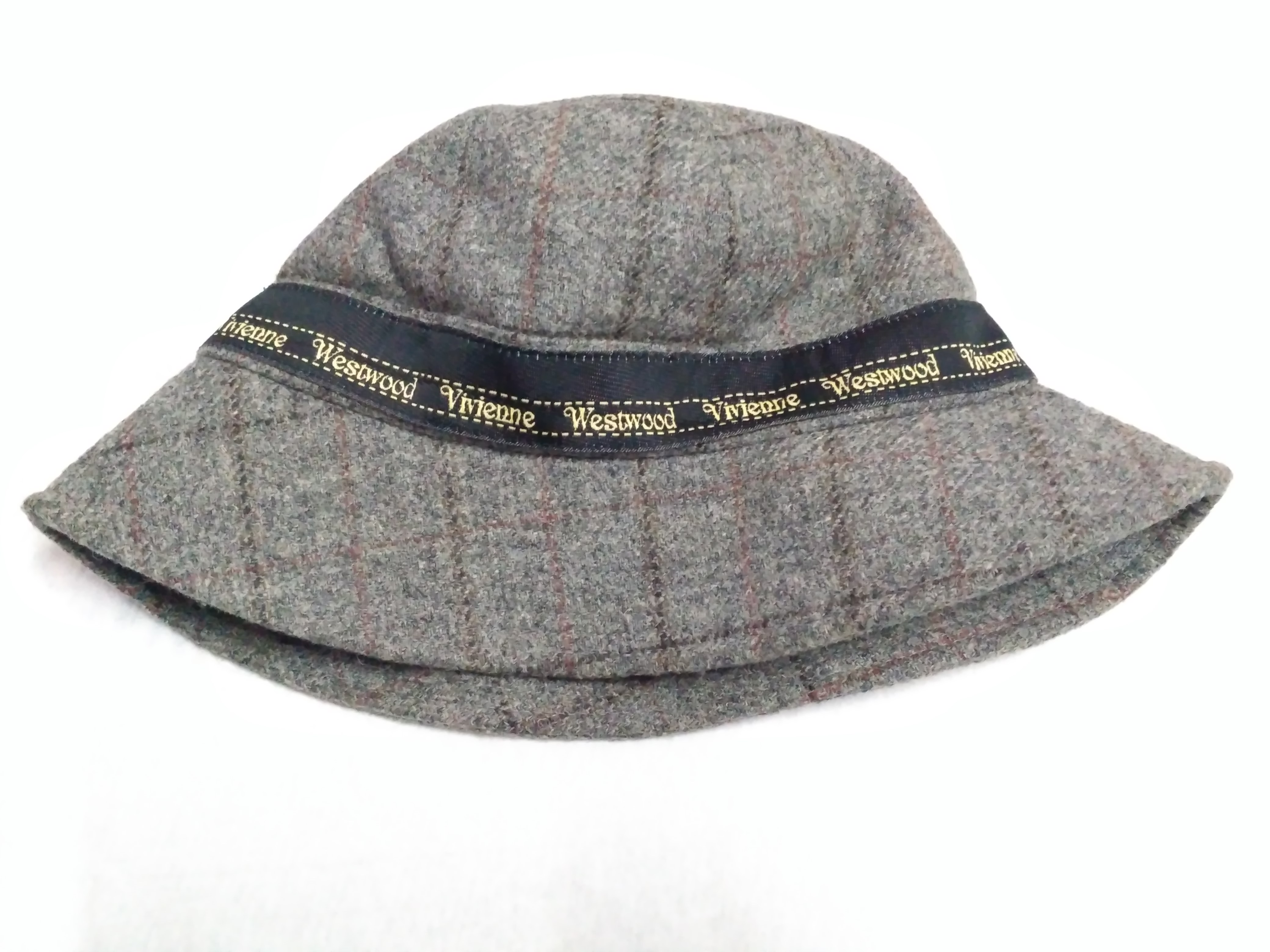 Vivienne Westwood Wool Plaid Bucket Hat Size one size - Hats for ... bc07db30dd4