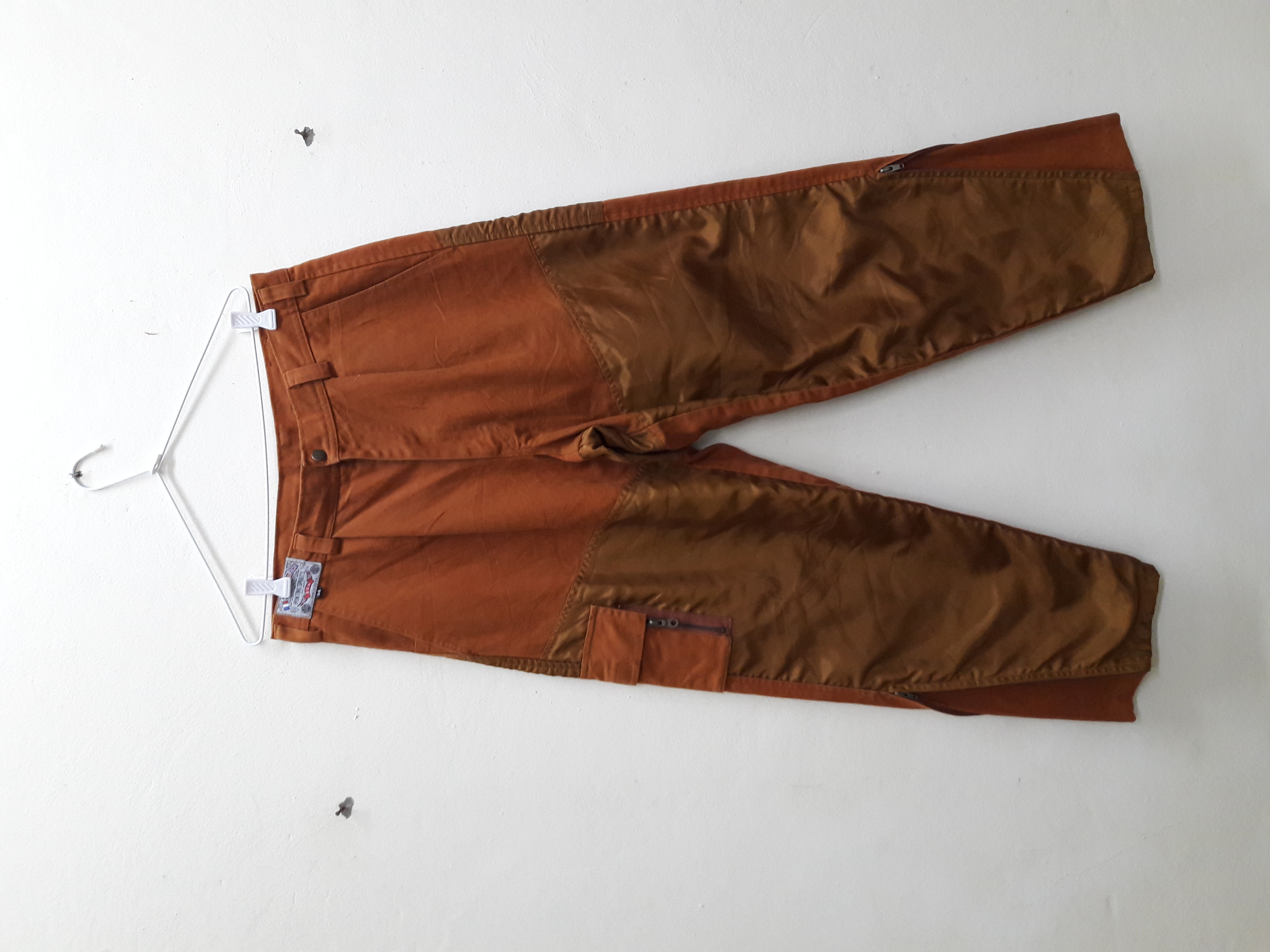 eac4dd4aadd84 Japanese Brand Vintage Rare Hunting Sports Pants Trausers Baggy Japan Brand  Size 33 Men Clothing Cargo Tactical Zipper Leg Open Casual Wear   Grailed