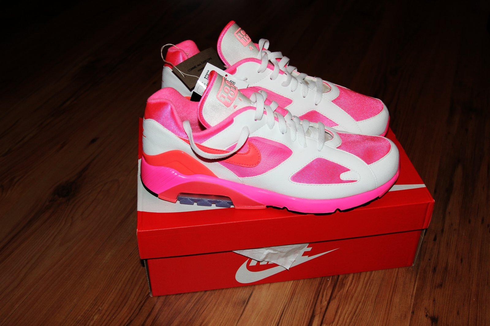 701b8c1ef2c0 Nike Bnwt Ss18 Comme Des Garcons X Nike Air Max 180 Sneakers Size 11 ...