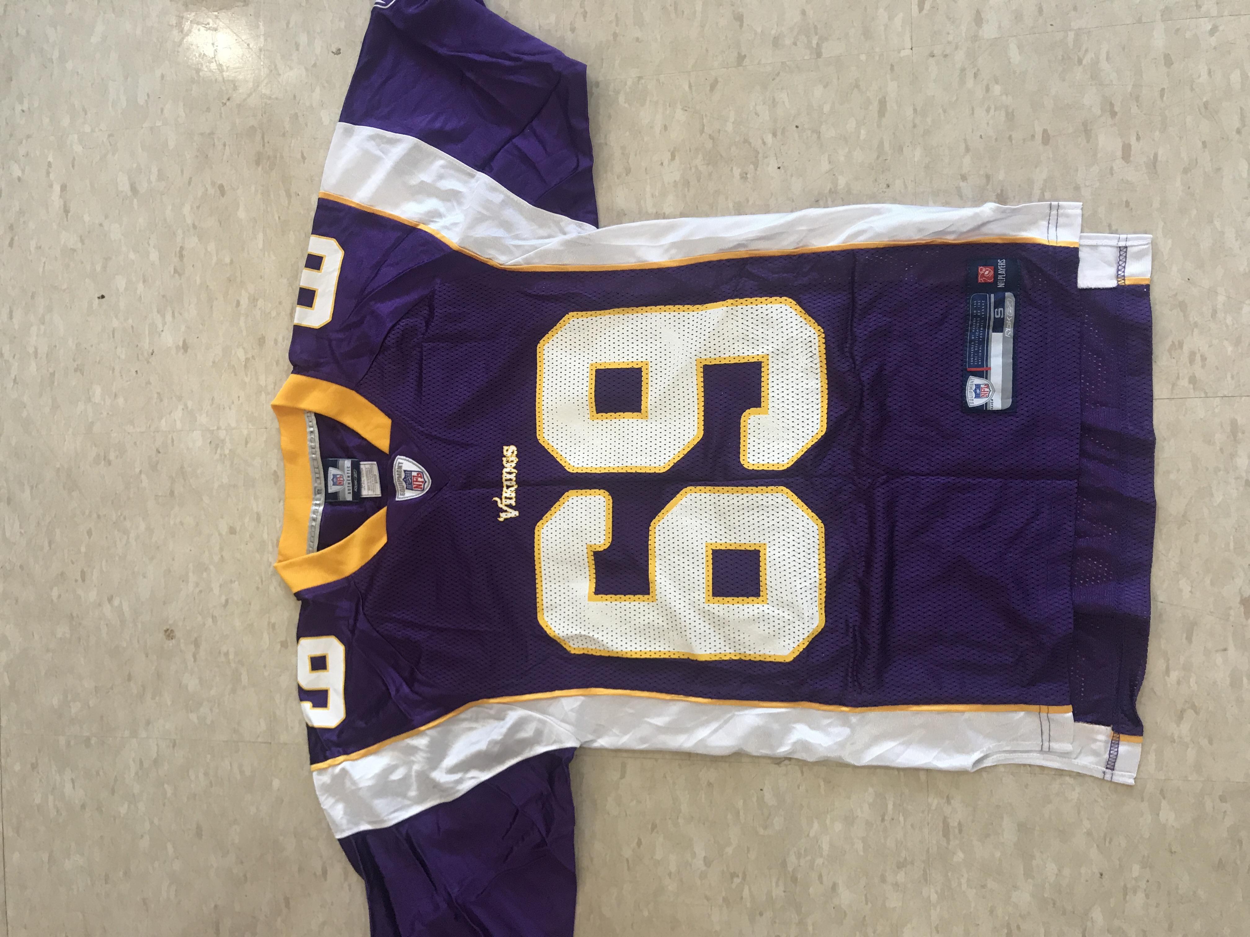 be185f852 Vintage Vintage Jared Allen NFL Minnesota Vikings Jersey Vntg Size m -  Short Sleeve T-Shirts for Sale - Grailed