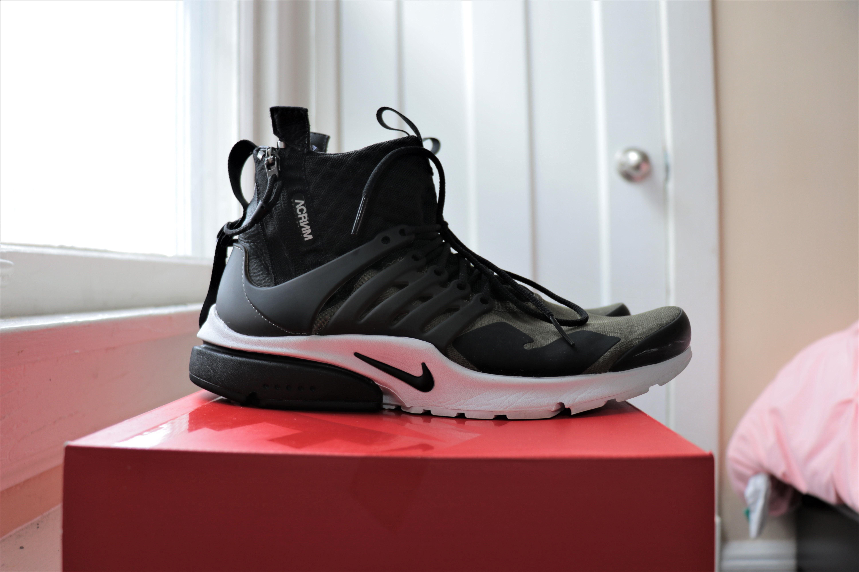 b4c898dbd8 Nike × Acronym × Errolson Hugh ×. Nike x Acronym Air Presto Mid Olive XS Size  US 8-9 EU 41-42.5
