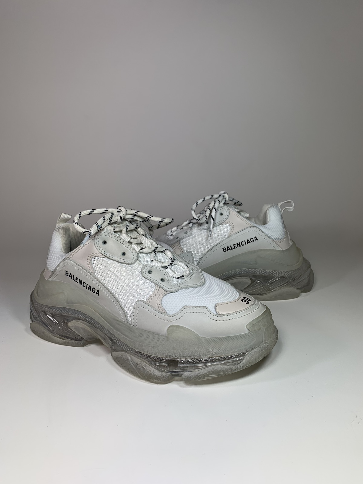 Balenciaga Triple S Clear Sole Grailed