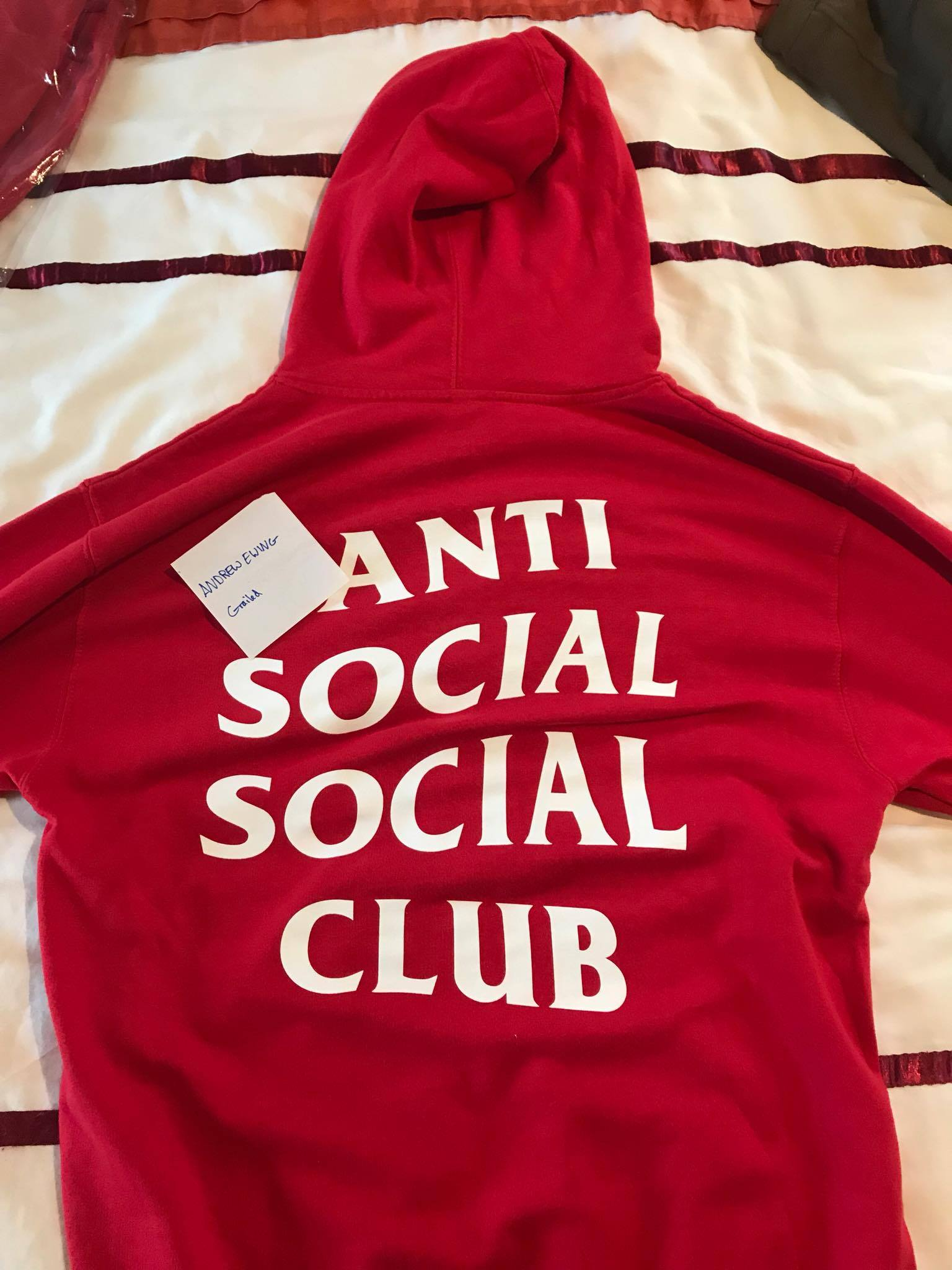 06f88093bbbd Antisocial Social Club Goodbye Hoodie (FREE SHIPPING UK EU) Size l ...