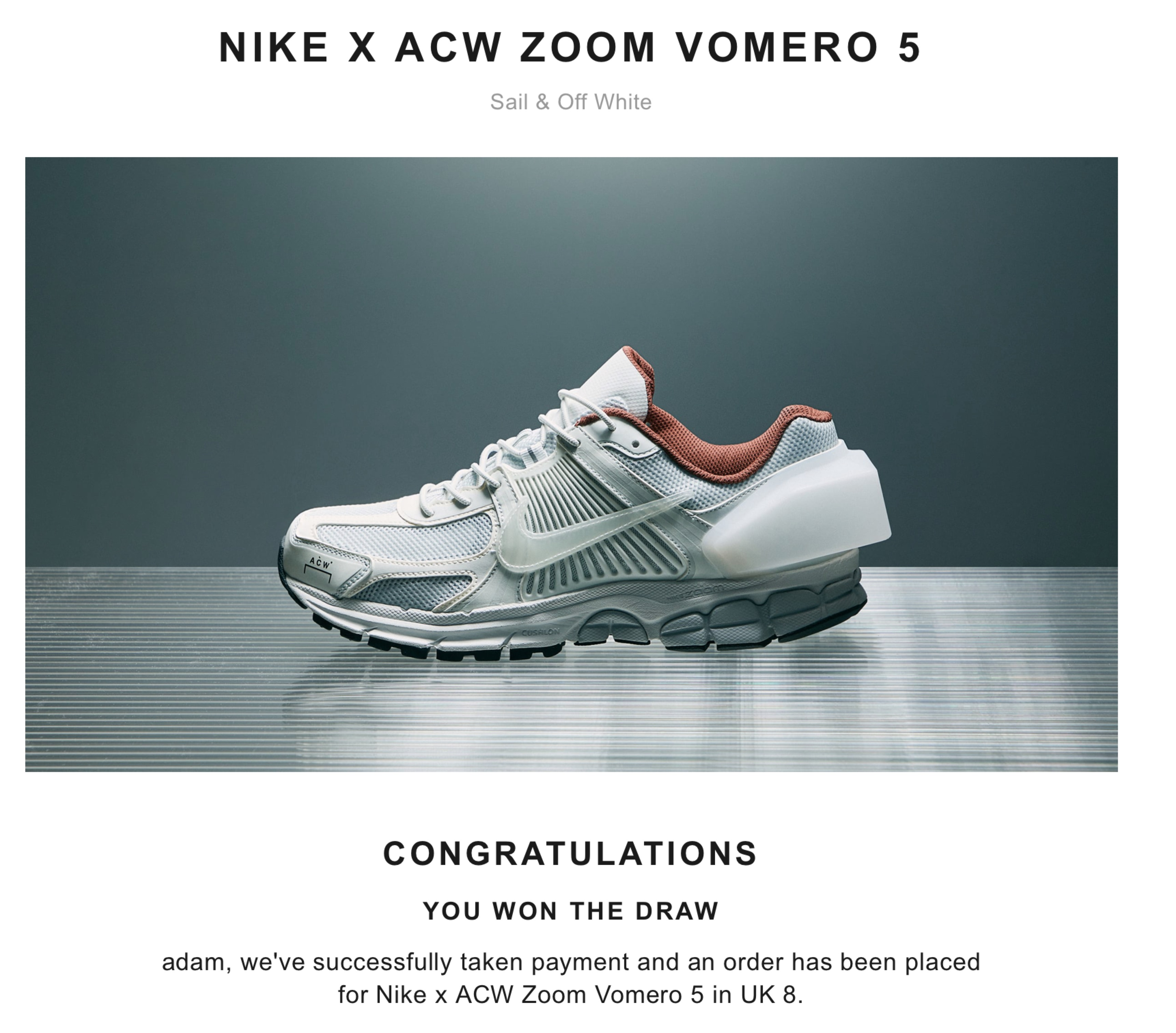 online store deaf9 d47af Nike nike x ACW zoom vomero 5 Size 9 - Low-Top Sneakers for Sale - Grailed