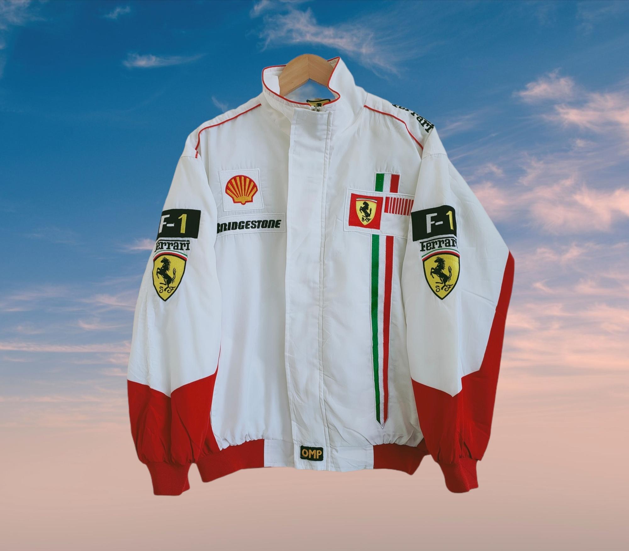 Vintage Vintage Ferrari F1 Racing Jacket Grailed