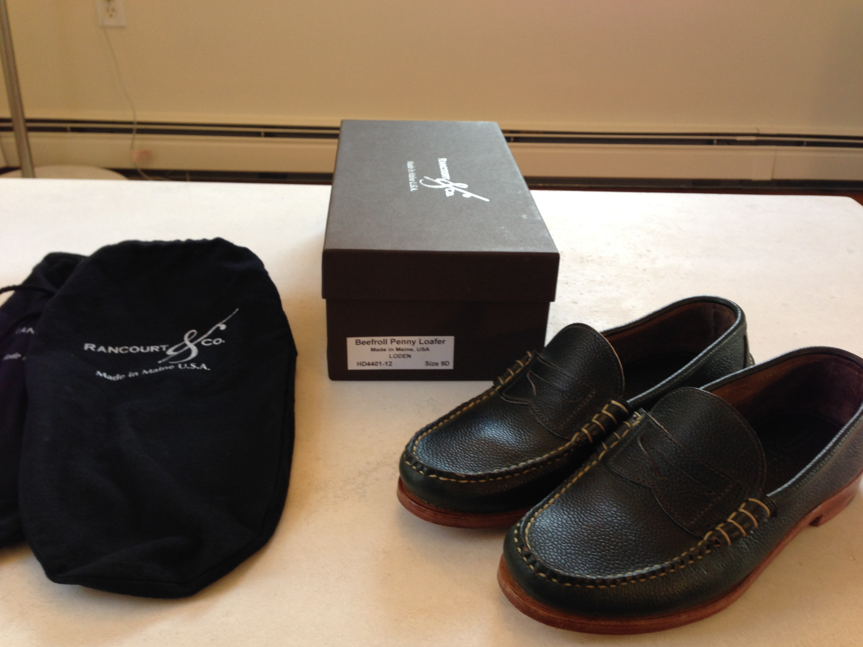 f17c5f293d Rancourt   Co. Beefroll penny loafers Size 9 - Formal Shoes for Sale ...
