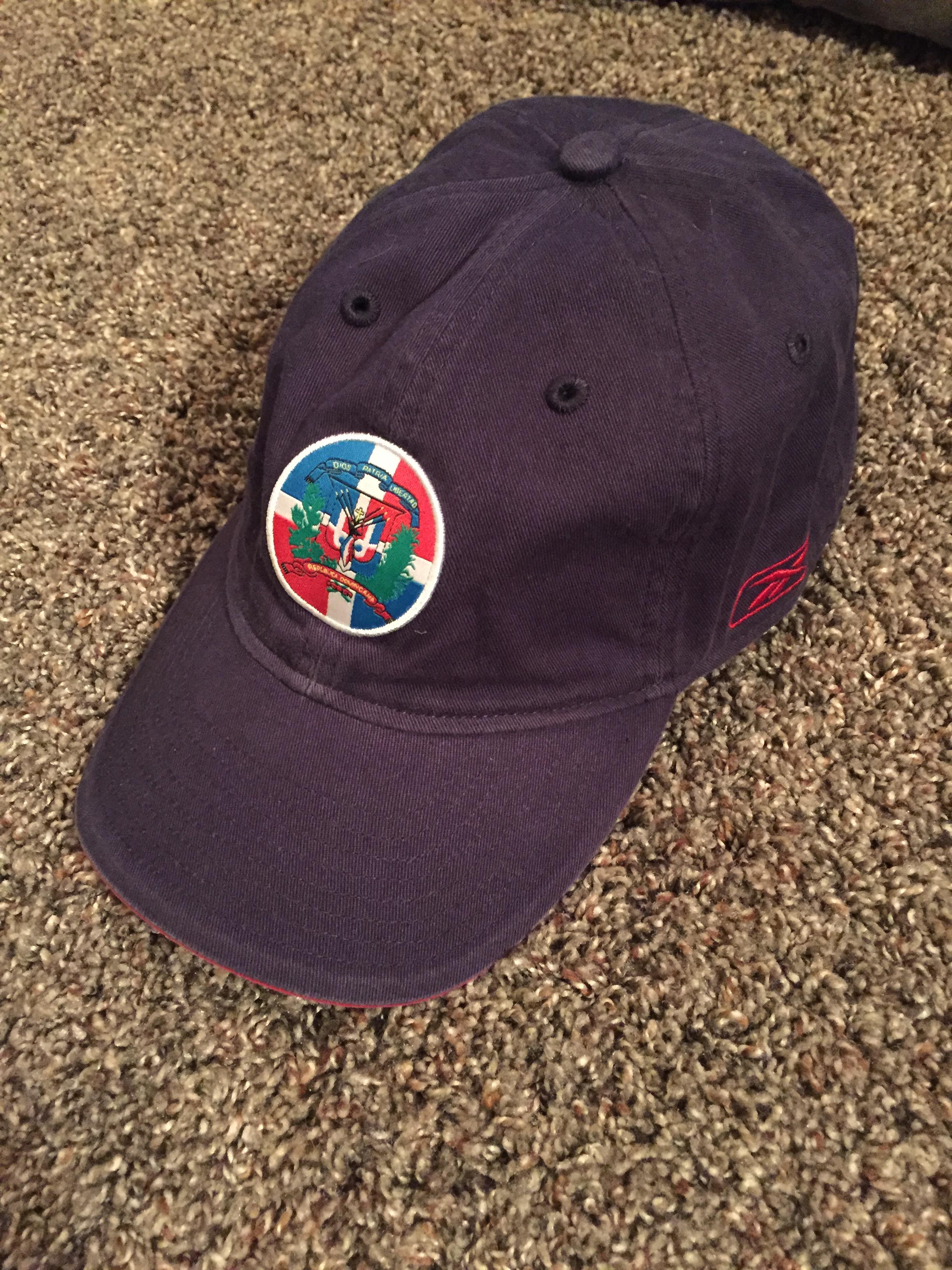 Reebok Reebok Dominican Republic Dad Hat - NEW Size one size - Hats ... 9cefde58cca