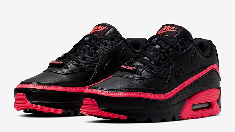 Nike Nike Undefeated Air Max 90 Red Black Grailed