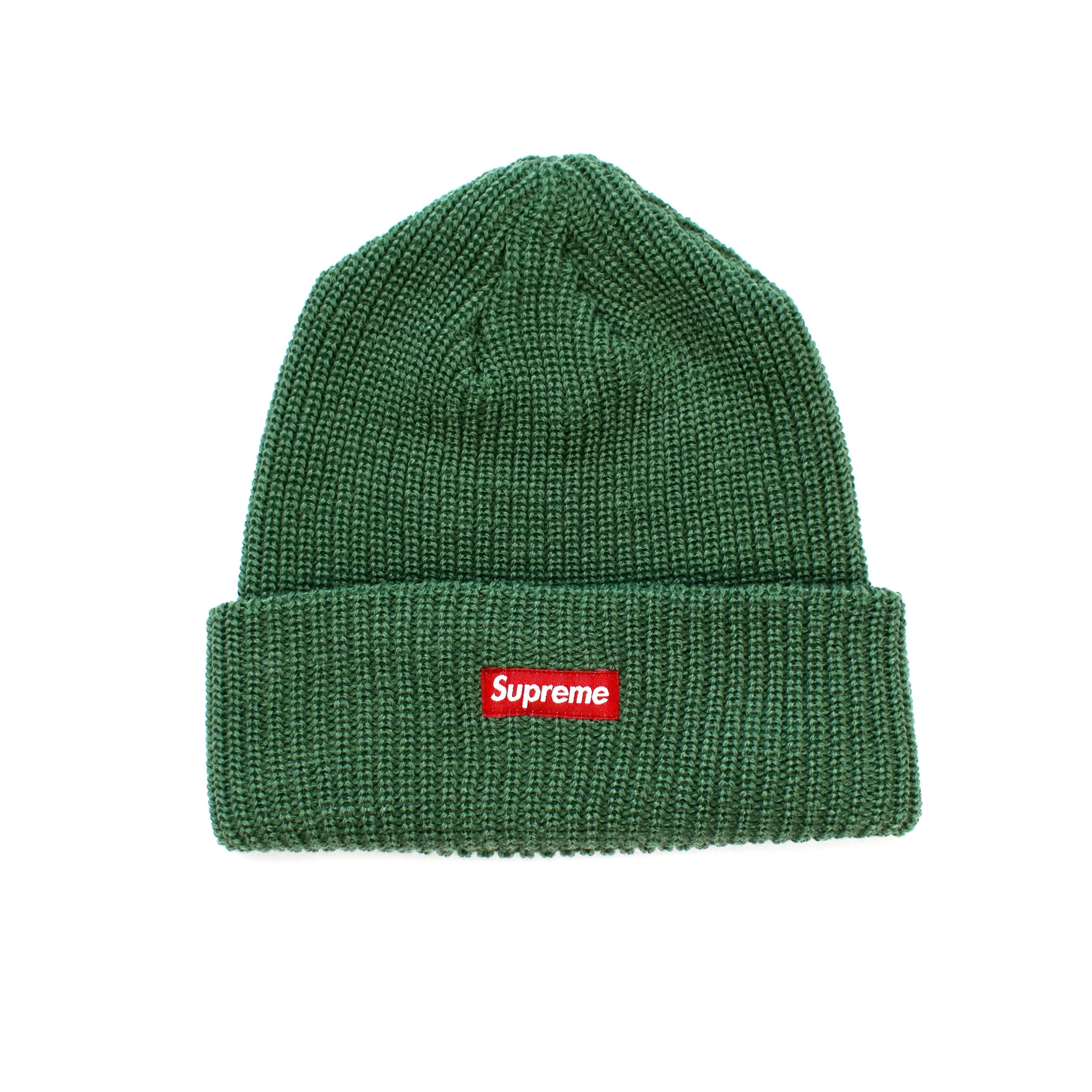43b3f971 Supreme Green Box Logo Beanie Ds | Grailed