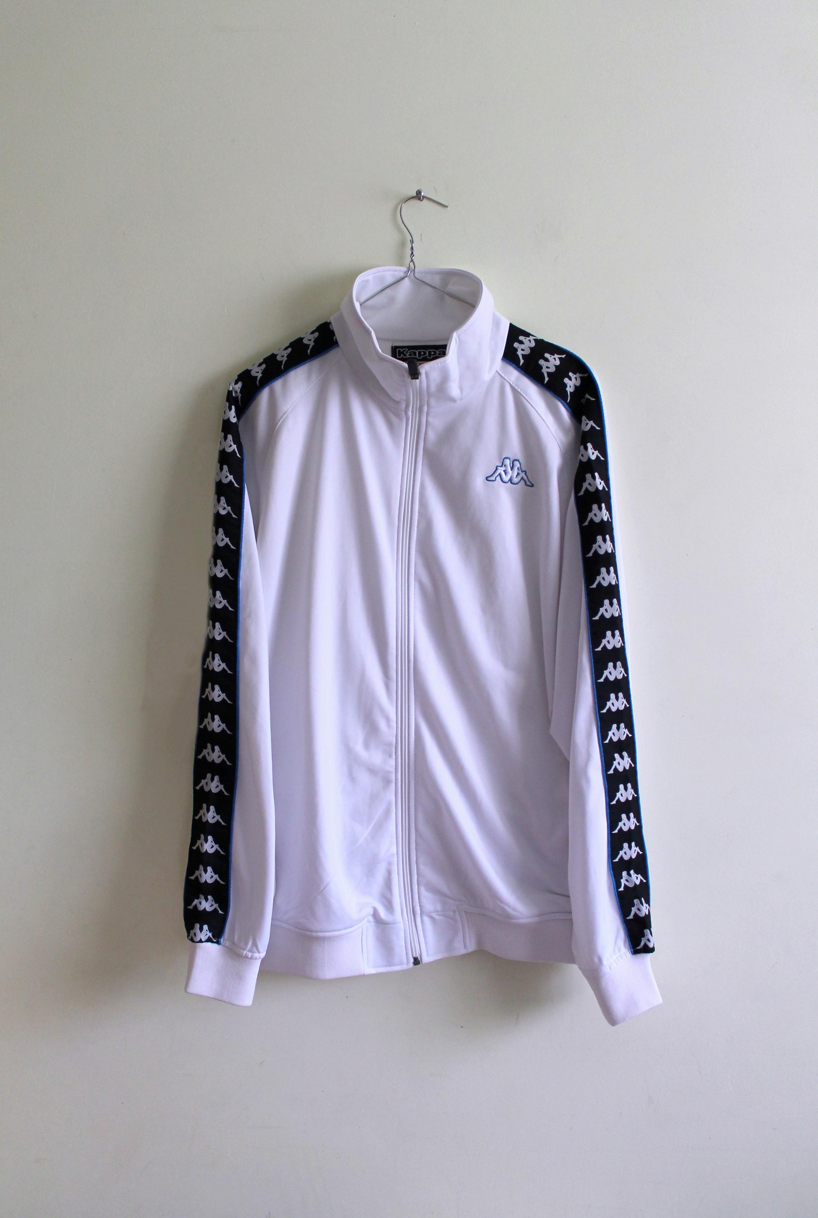 3efb774f10ac Kappa Kappa White Track Top Stussy Kappa Fred Perry Tommy Hilfiger Nike  Adidas Supreme Cav Empt Uniqlo Y-3 OFF-White Size l - Sweatshirts   Hoodies  for Sale ...
