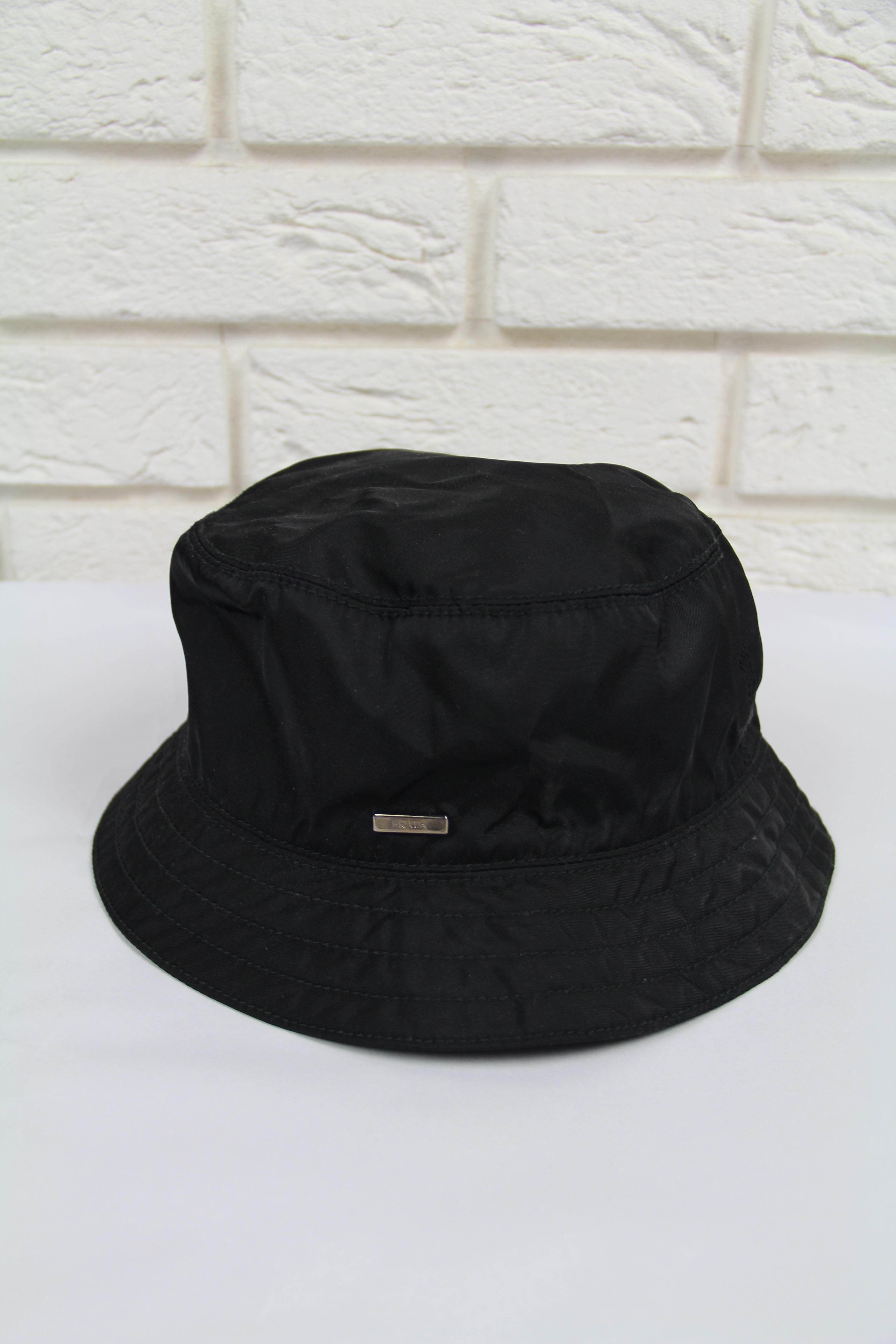 Prada 🔥Prada Logo Nylon Bucket Hat Size one size - Hats for Sale ... 67524cef1f9