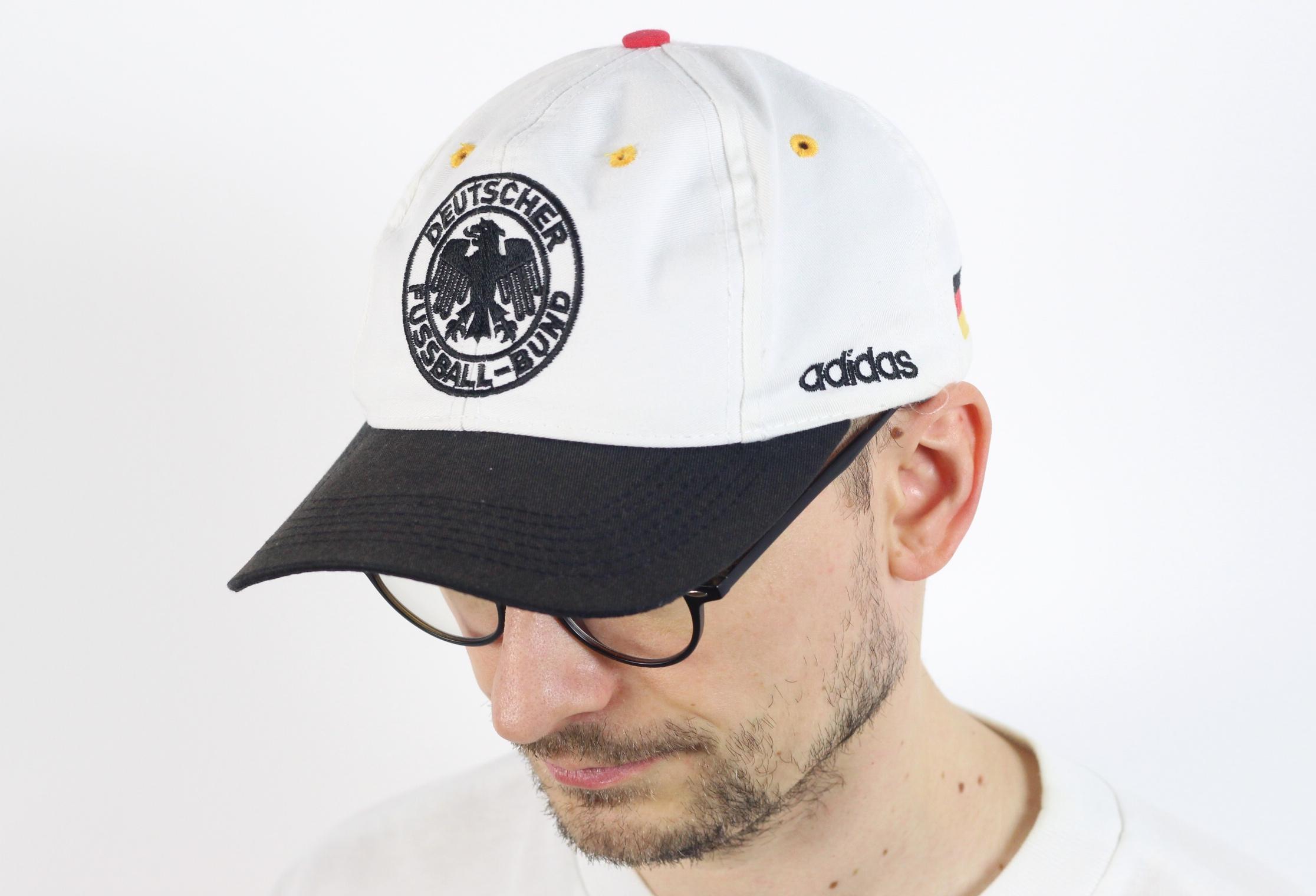 Germany Deutscher Fussball Bund strapback hat cap 90s