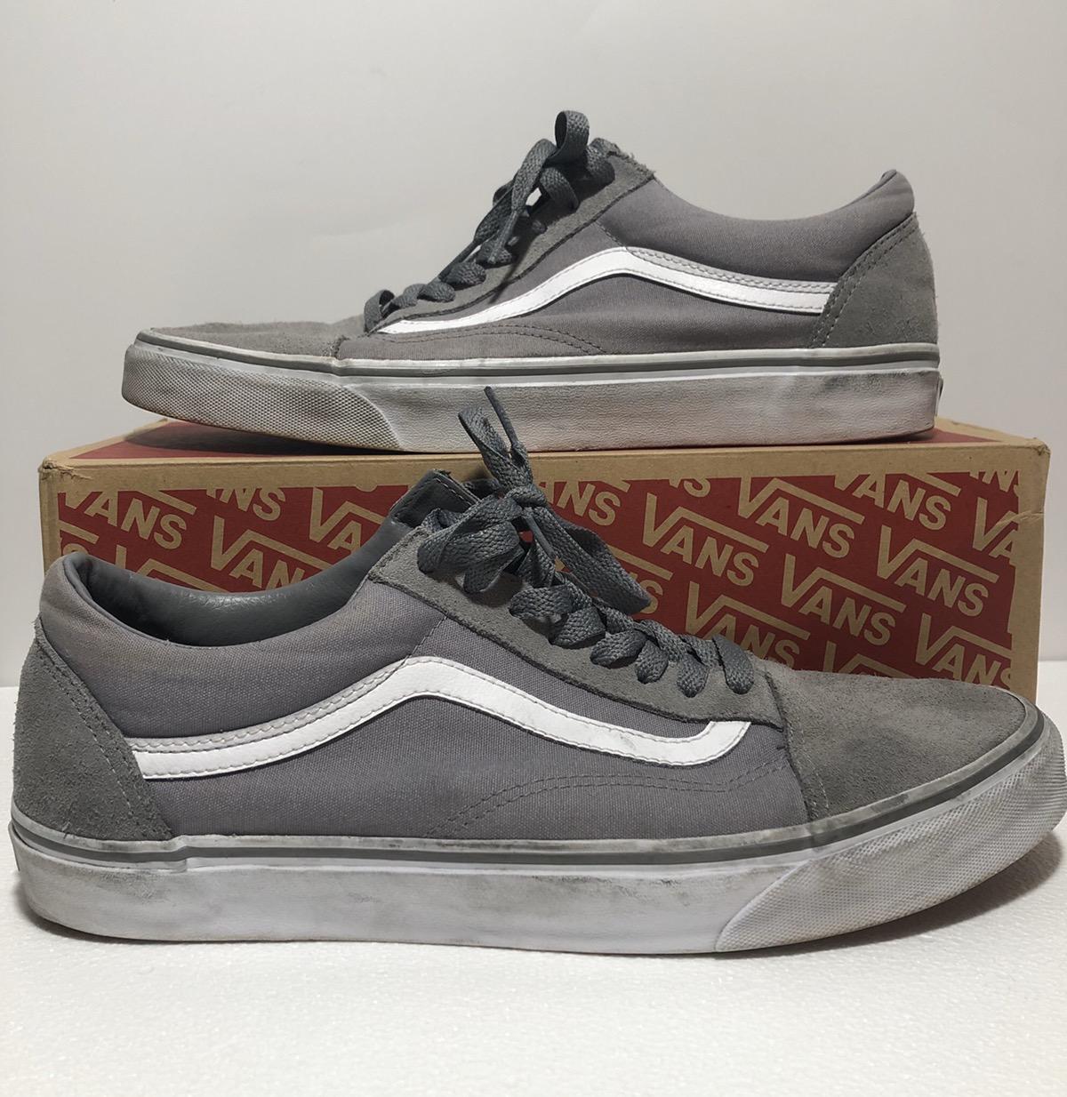 vans old skool frost grey