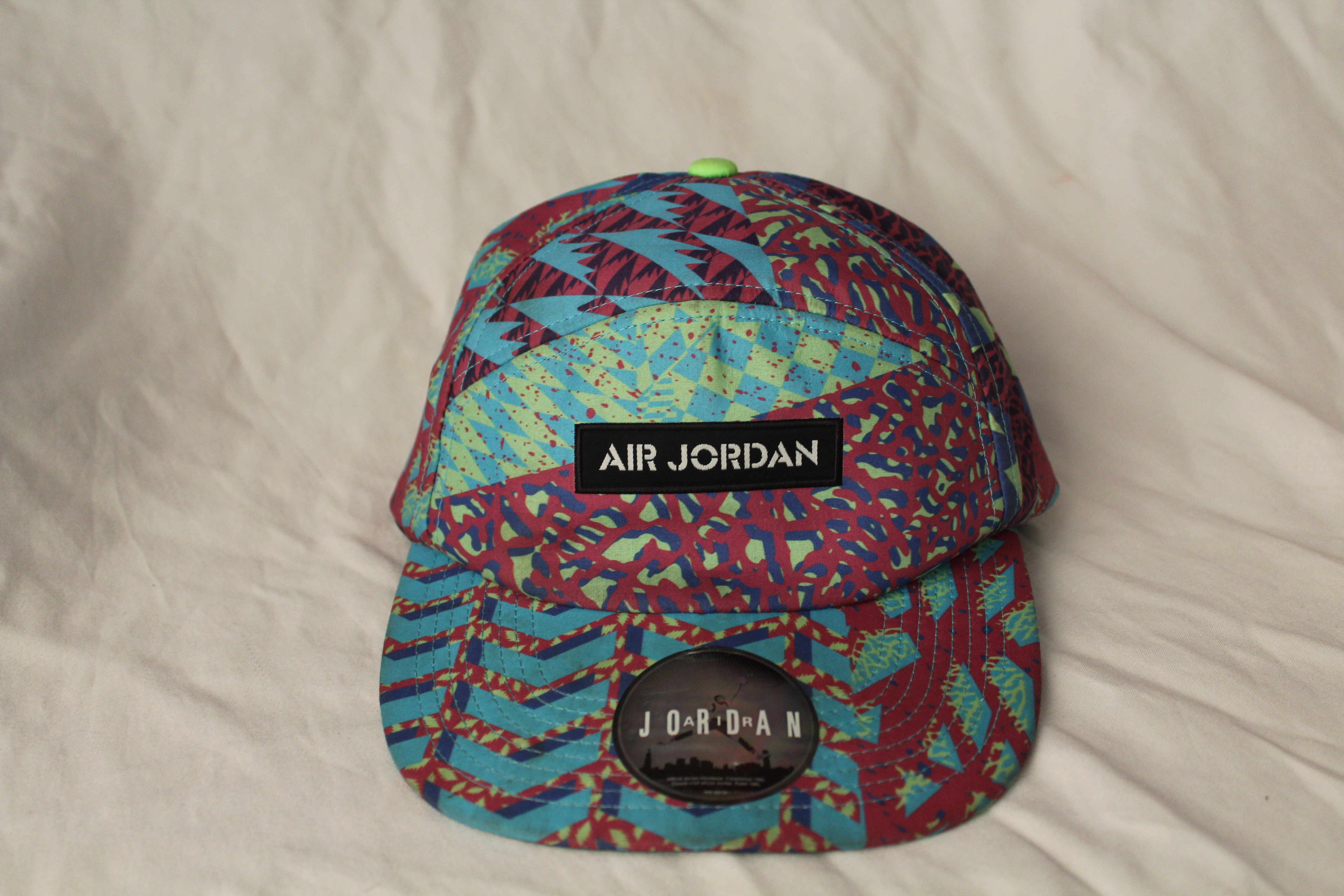c84104ee7a0 Jordan Brand. rare Nike Air Jordan Retro Bel Air Fresh Prince 5 Panel  Adjustable Hat ...