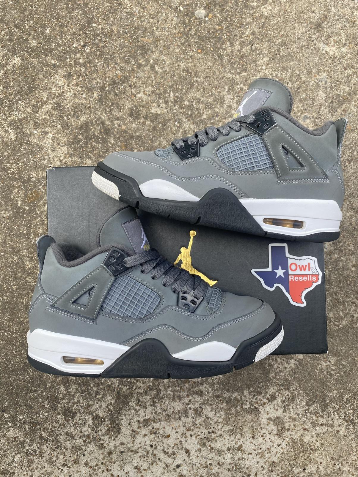 Nike Air Jordan 4 Retro GS Cool Grey 2019 4Y