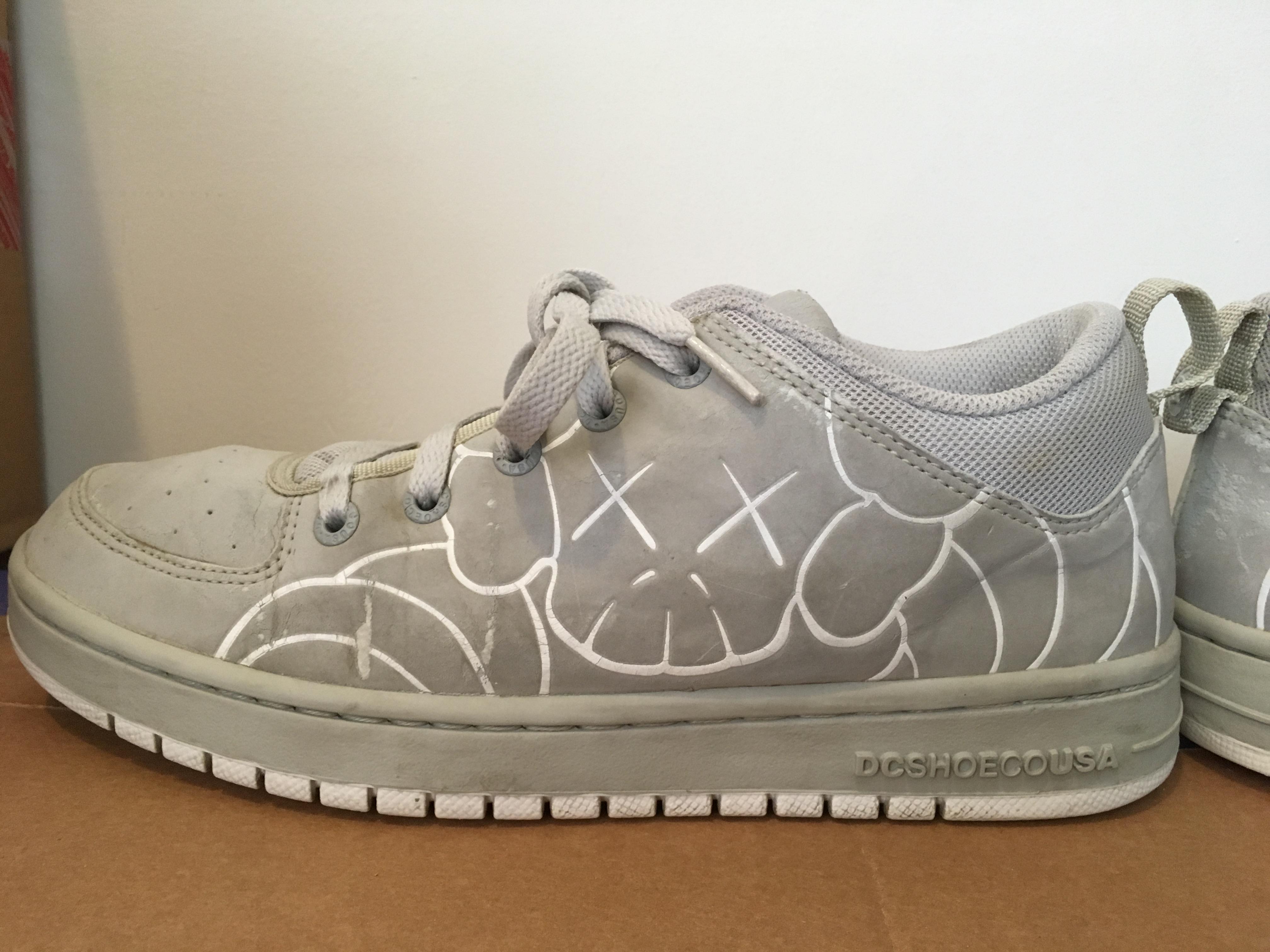 24153935 Dc Kaws X Dc Collab Shoes | Grailed