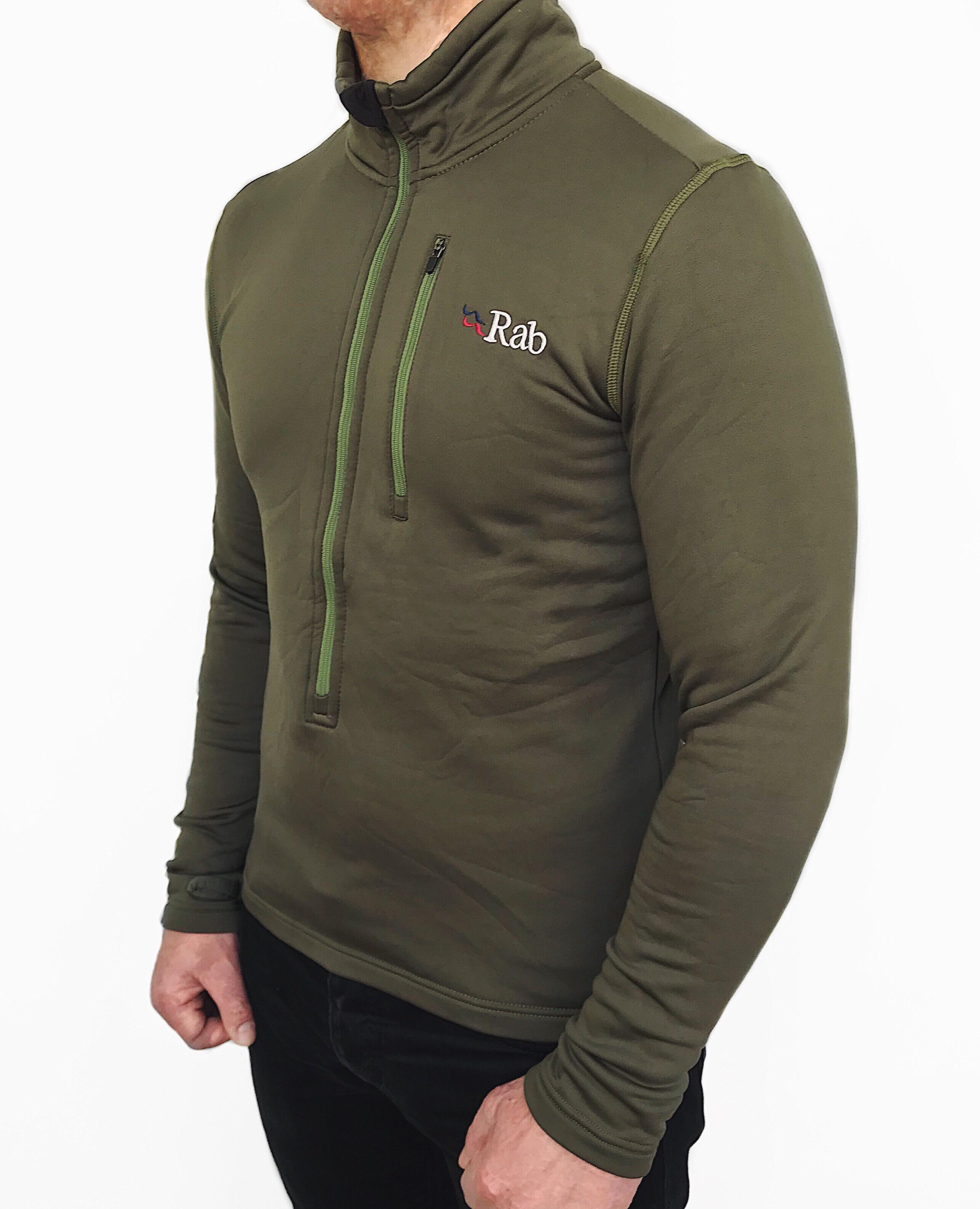 a541b824715026 Rab Rab Men's Power Stretch Zip Top Camo   Grailed